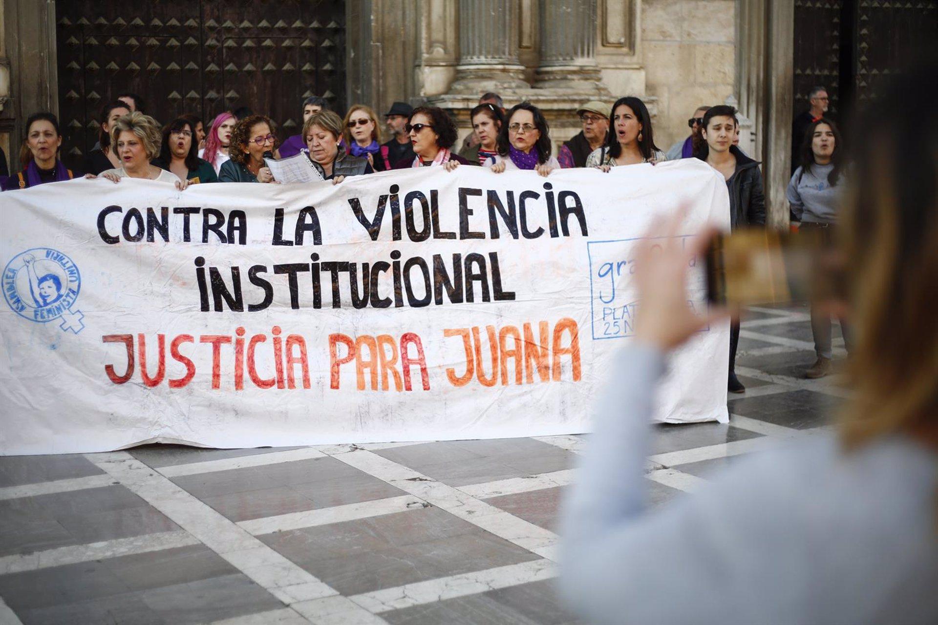 Plataformas censuran la «persecución» a Juana Rivas tras el reingreso en el CIS y reclaman el indulto