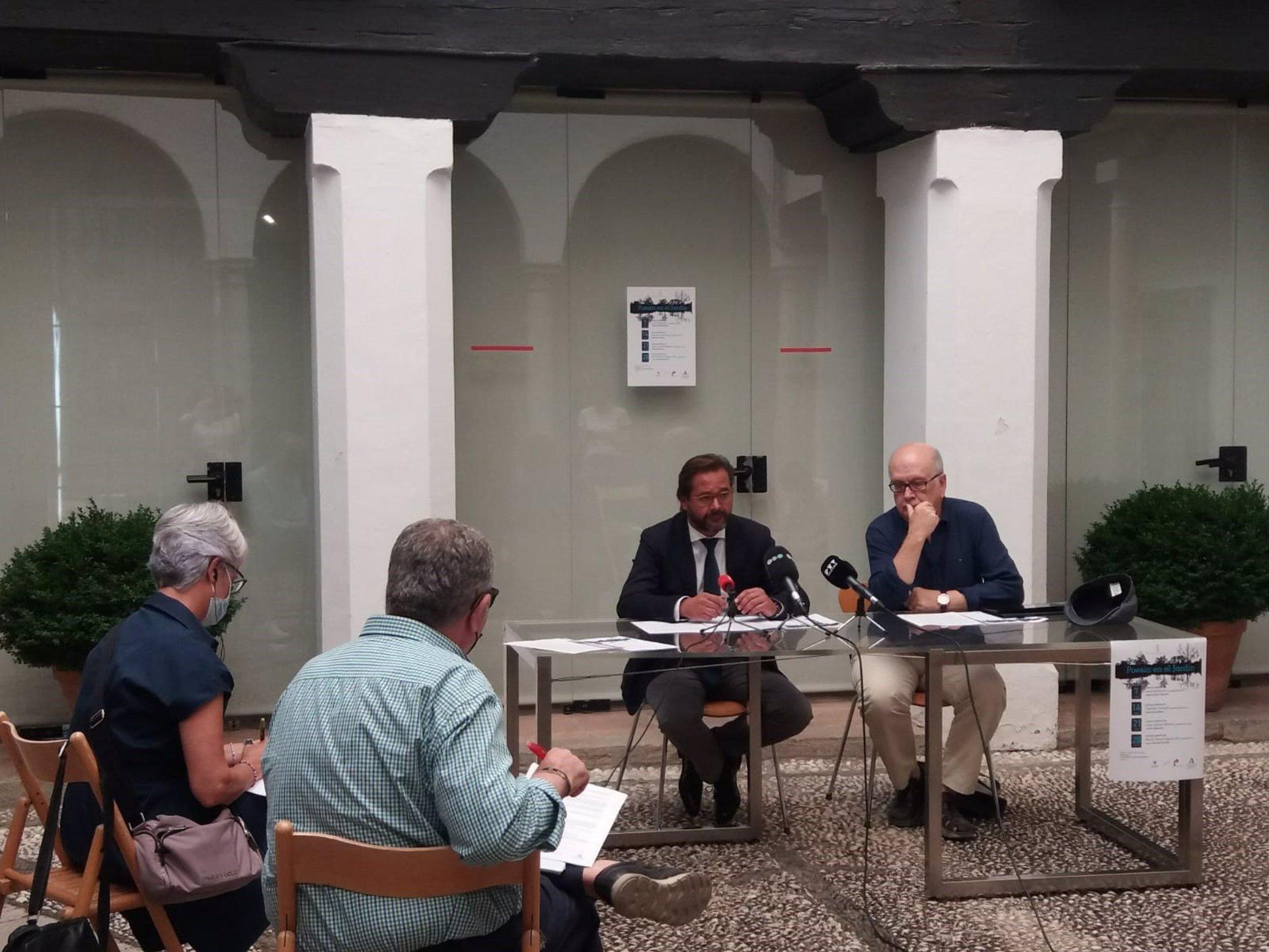 Los versos y la música vuelven a protagonizar el ciclo 'Poesía en el Jardín' en Granada
