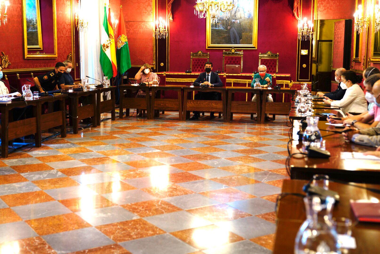 Cuenca preside la primera reunión del grupo local de coordinación frente a la covid