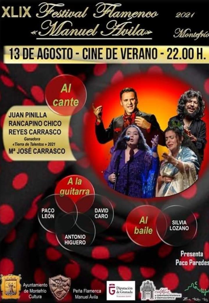 Montefrío acoge el viernes el 49º Festival Flamenco Manuel Ávila, uno de los más antiguos de España