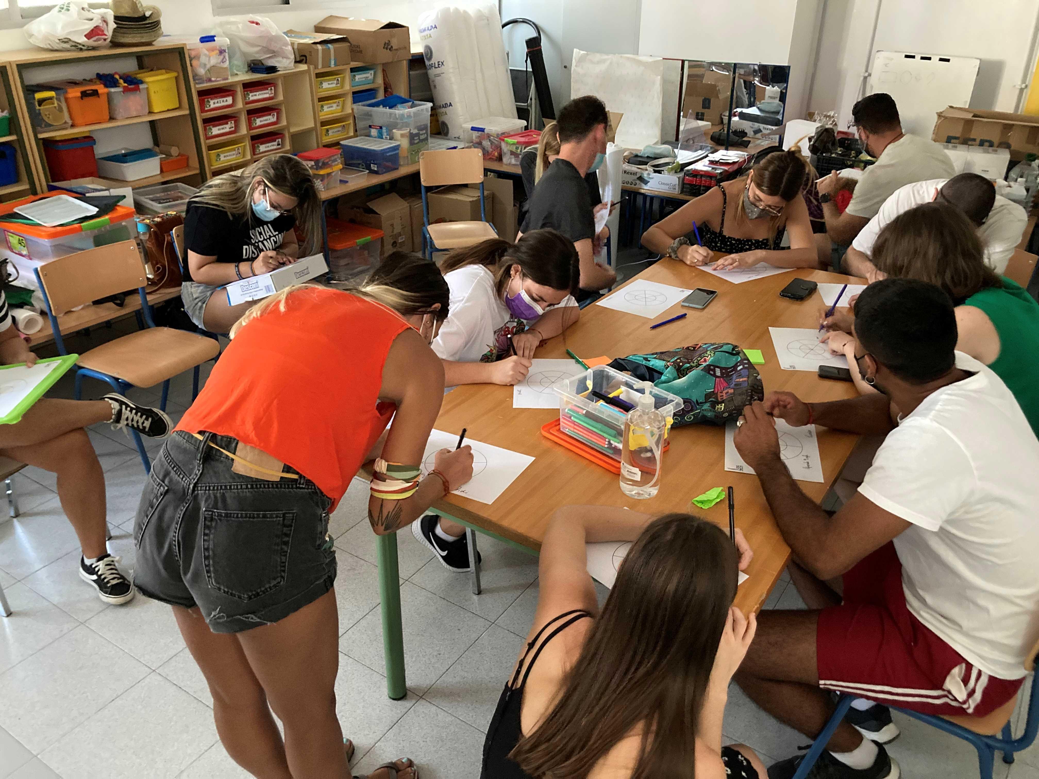 Diputación organiza un campamento internacional en Íllora para fomentar el voluntariado entre los jóvenes