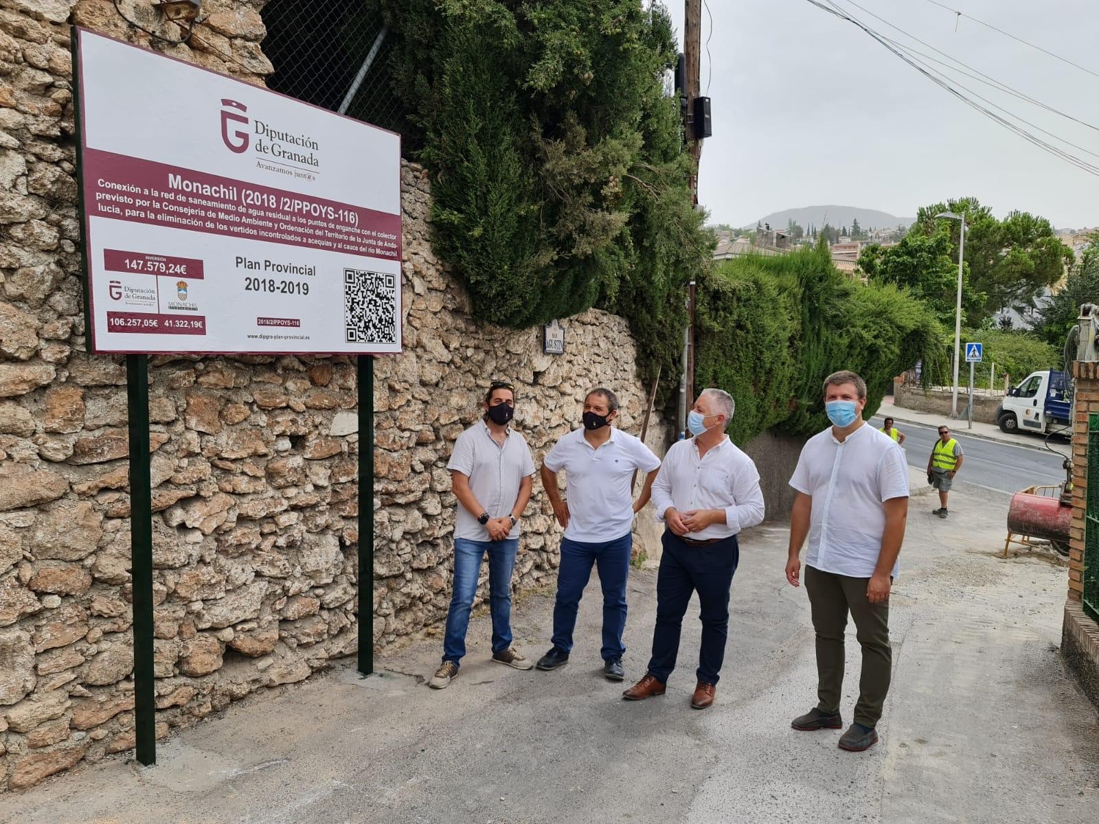 Destinan 1,4 millones para recuperar espacios públicos y regenerar el casco histórico de Monachil