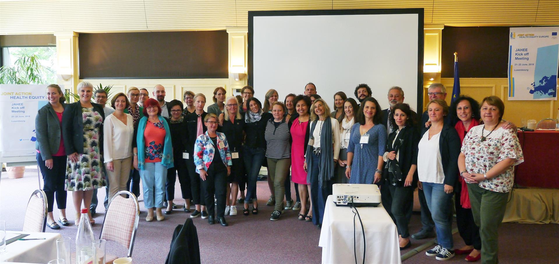 Prorrogado un proyecto europeo en el que la EASP trabaja en el acceso a la salud de la población vulnerable