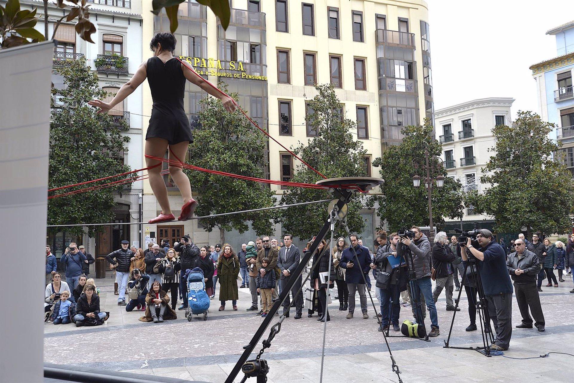 Los espectáculos del Festival de Circo y Artes Urbanas alcanzan una media del 90 por ciento de ocupación