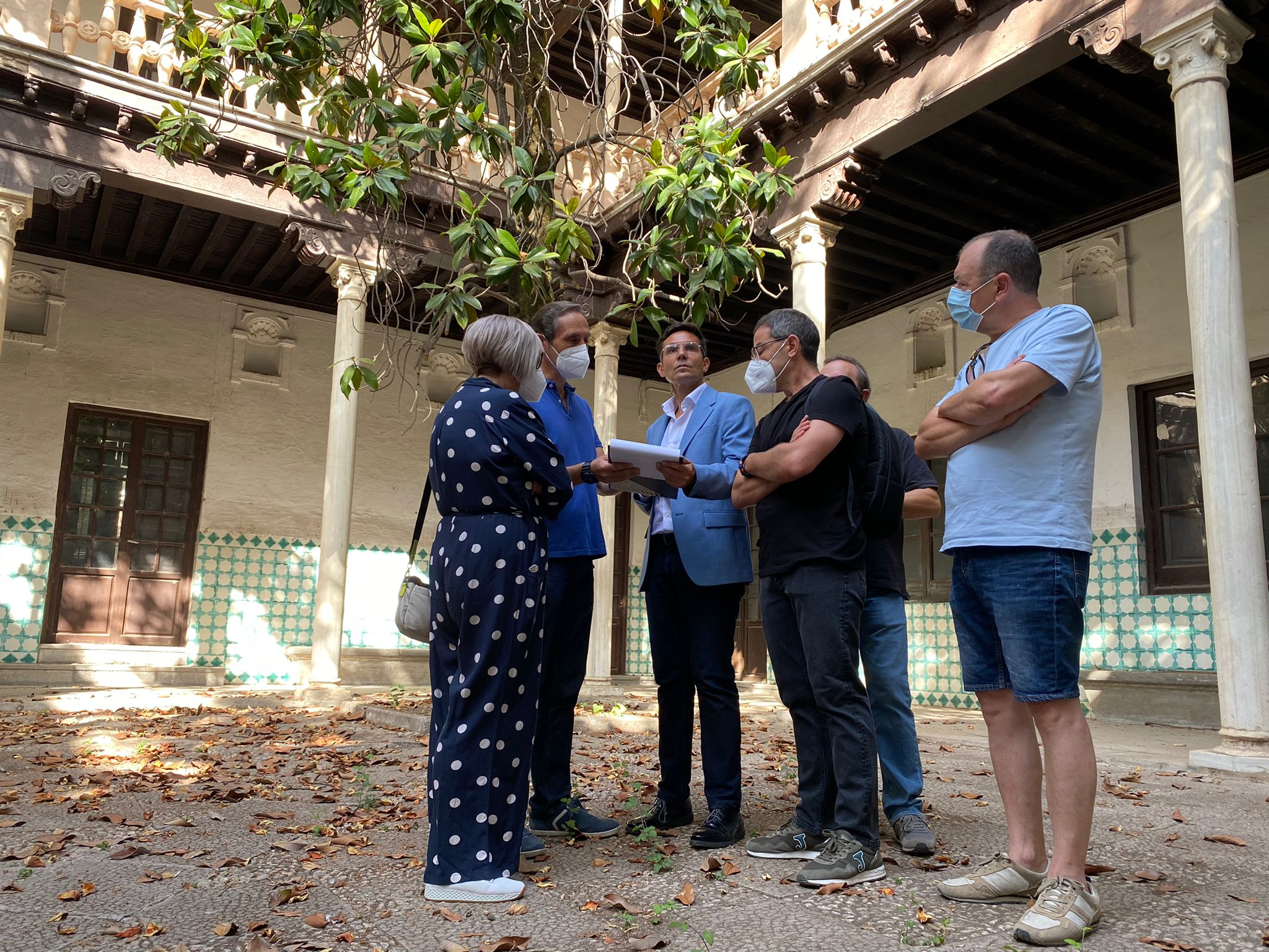 El Ayuntamiento inicia los trabajos que convertirán la Casa Ágreda en un museo