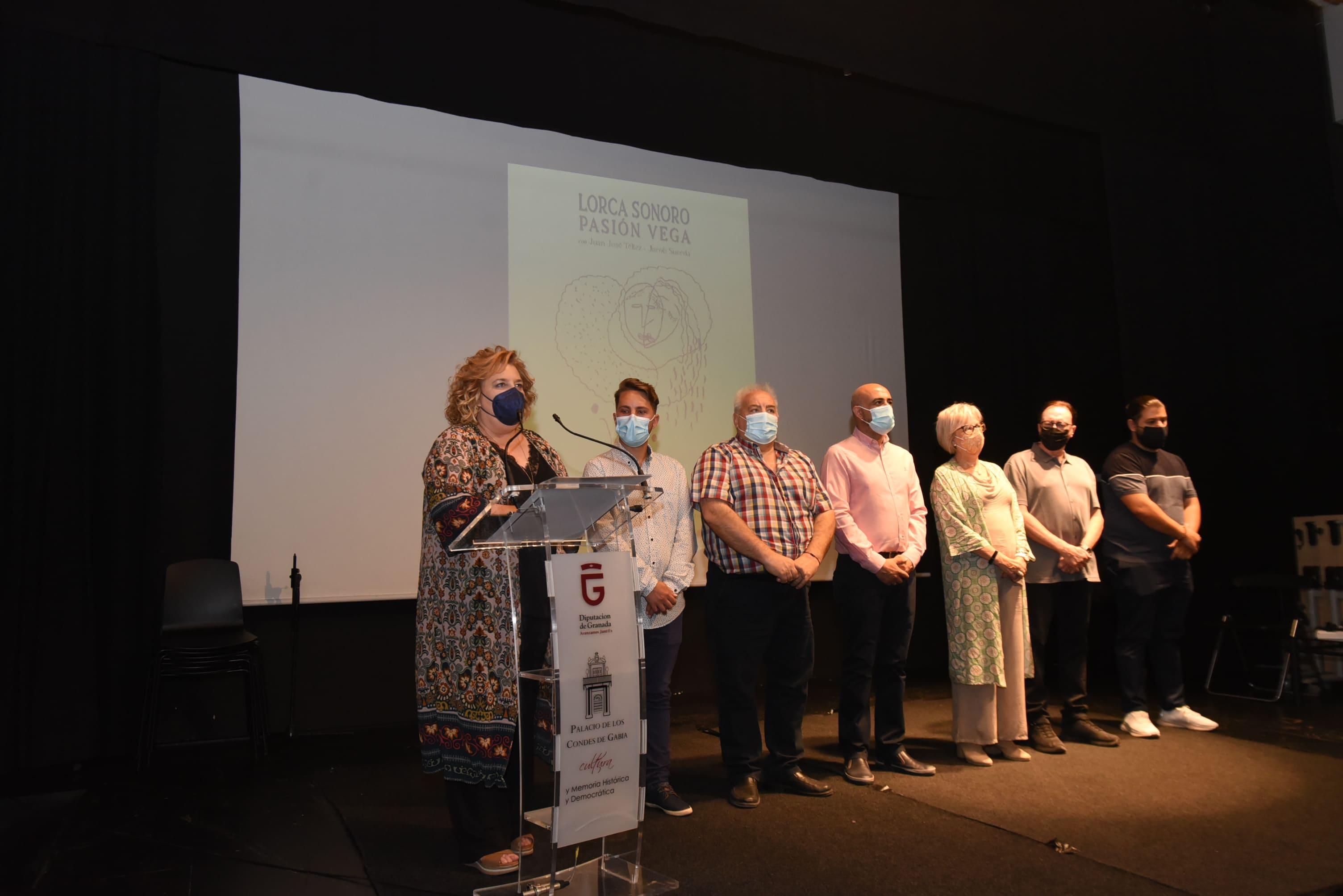 Pasión Vega ofrecerá un concierto en el homenaje a Lorca y a las víctimas de la Guerra Civil en el 85 aniversario de su fusilamiento