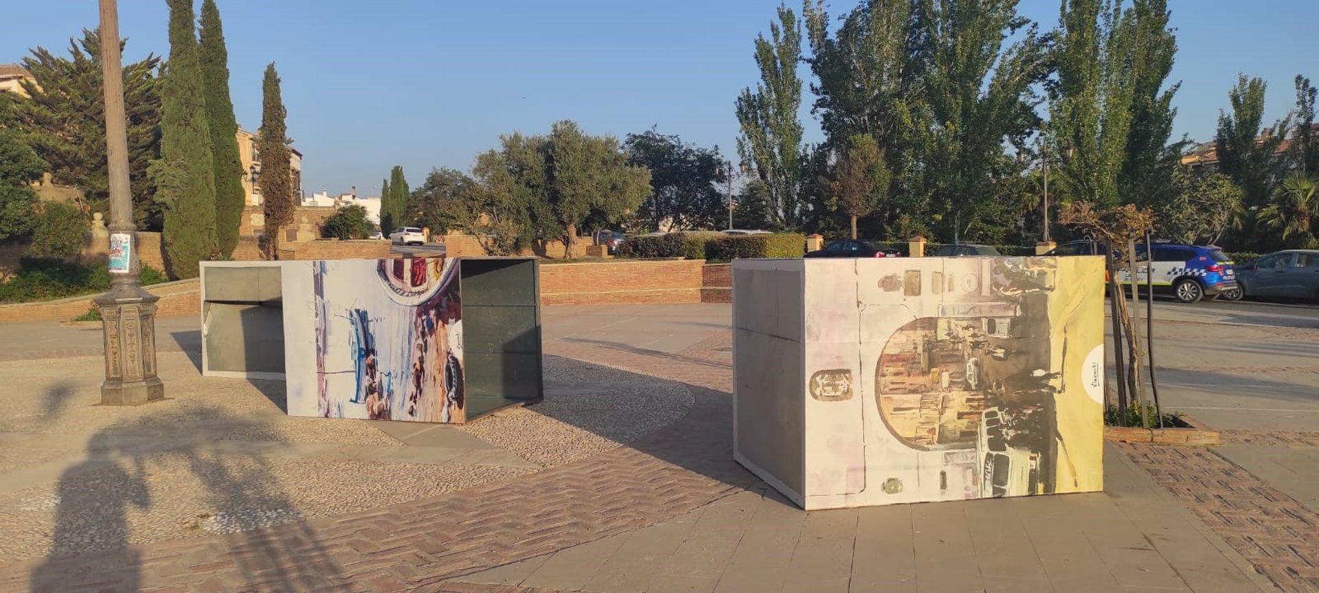 Investigan hechos vandálicos contra la exposición que homenajea a Julio Visconti en Guadix