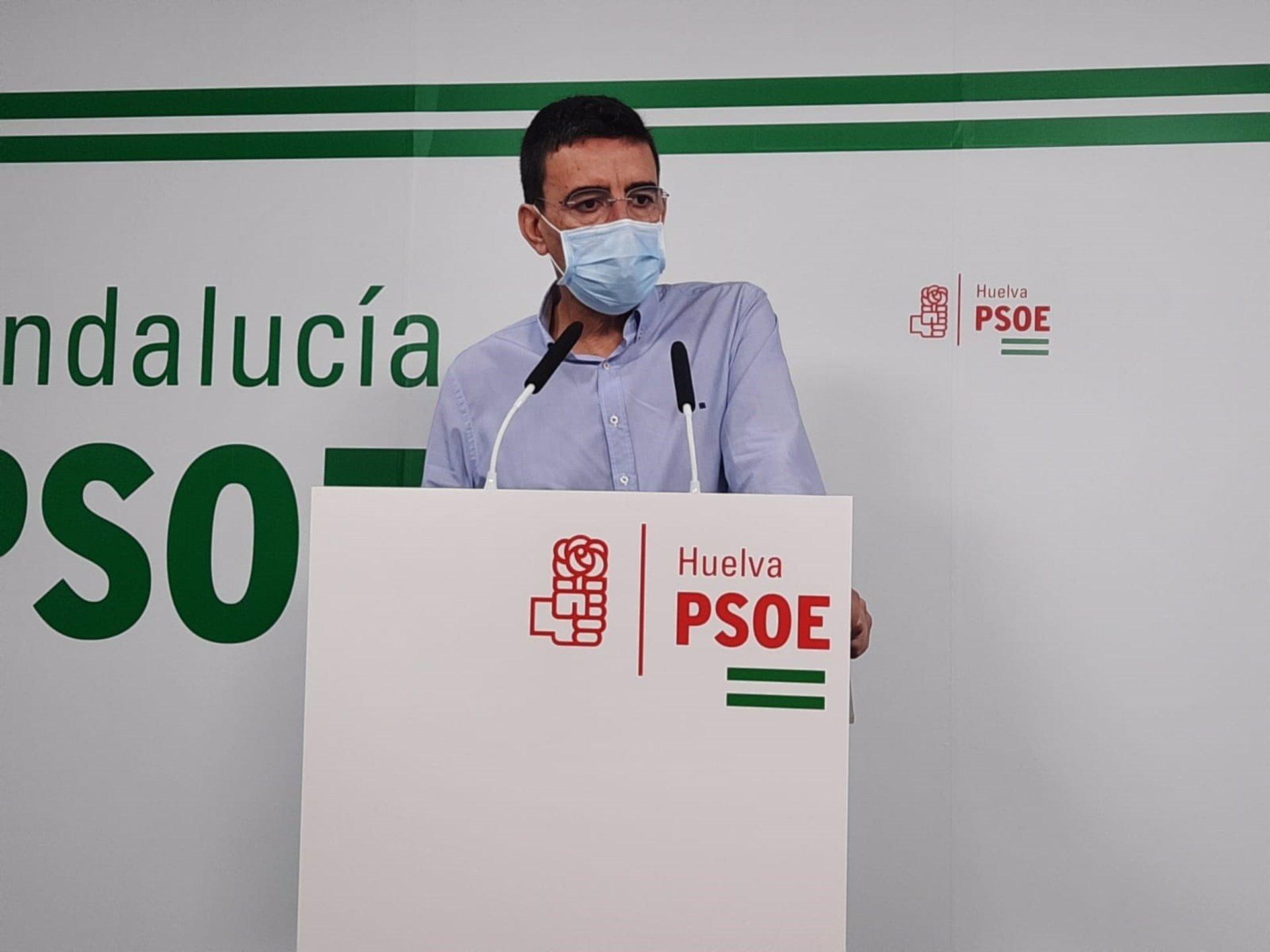 Mario Jiménez dice que las urnas «darán la victoria» al PSOE-A aunque «algunas encuestas se la den al PP»