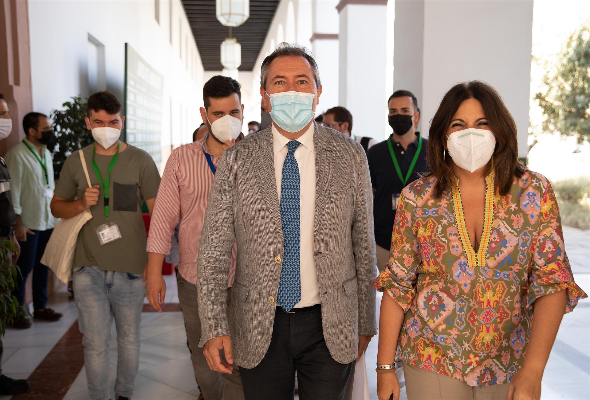 Espadas sitúa a Ángeles Férriz, María Márquez y Gerardo Sánchez en la comisión del XIV congreso del PSOE-A