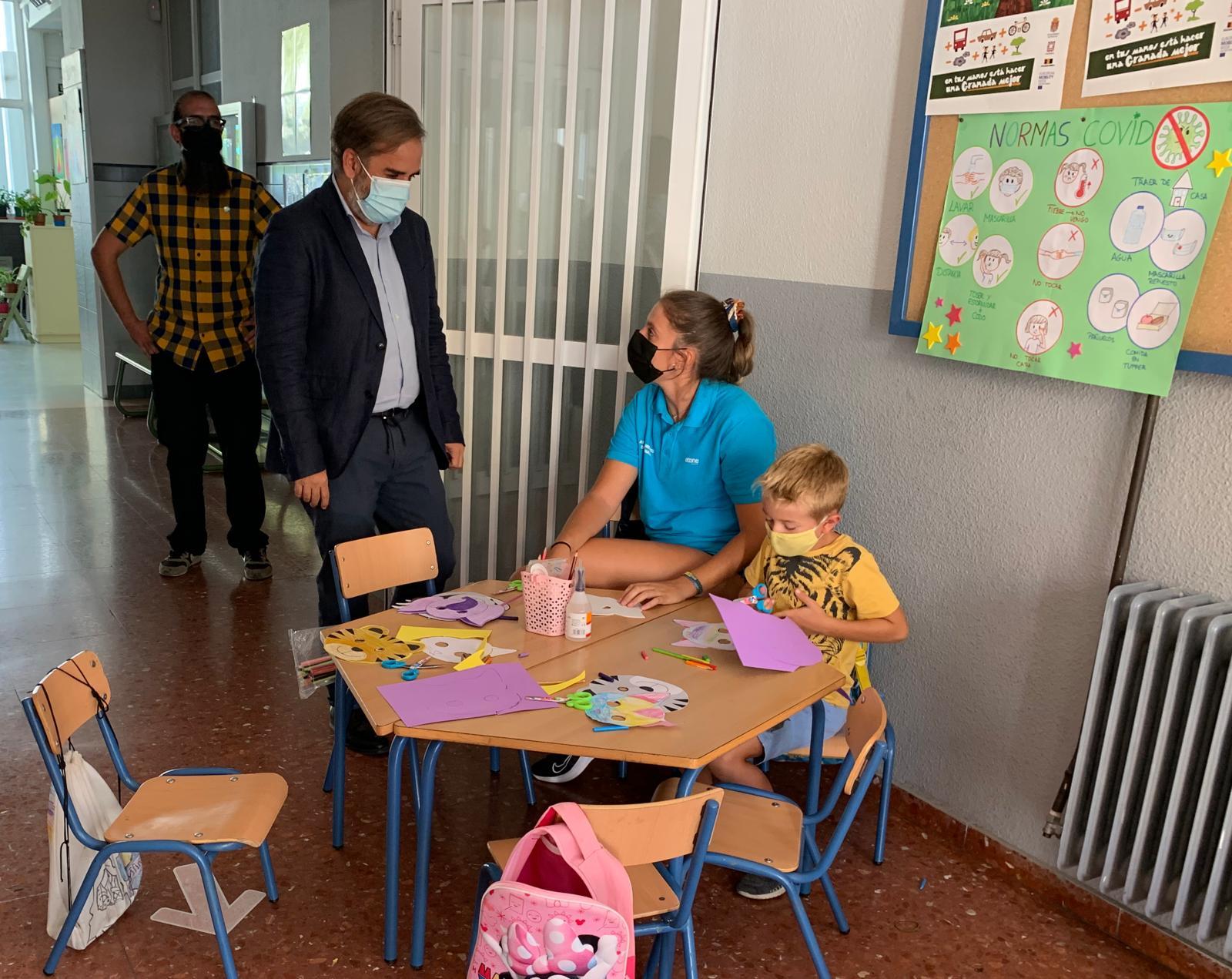 800 niños y niñas disfrutarán de la oferta lúdico educativa del Ayuntamiento