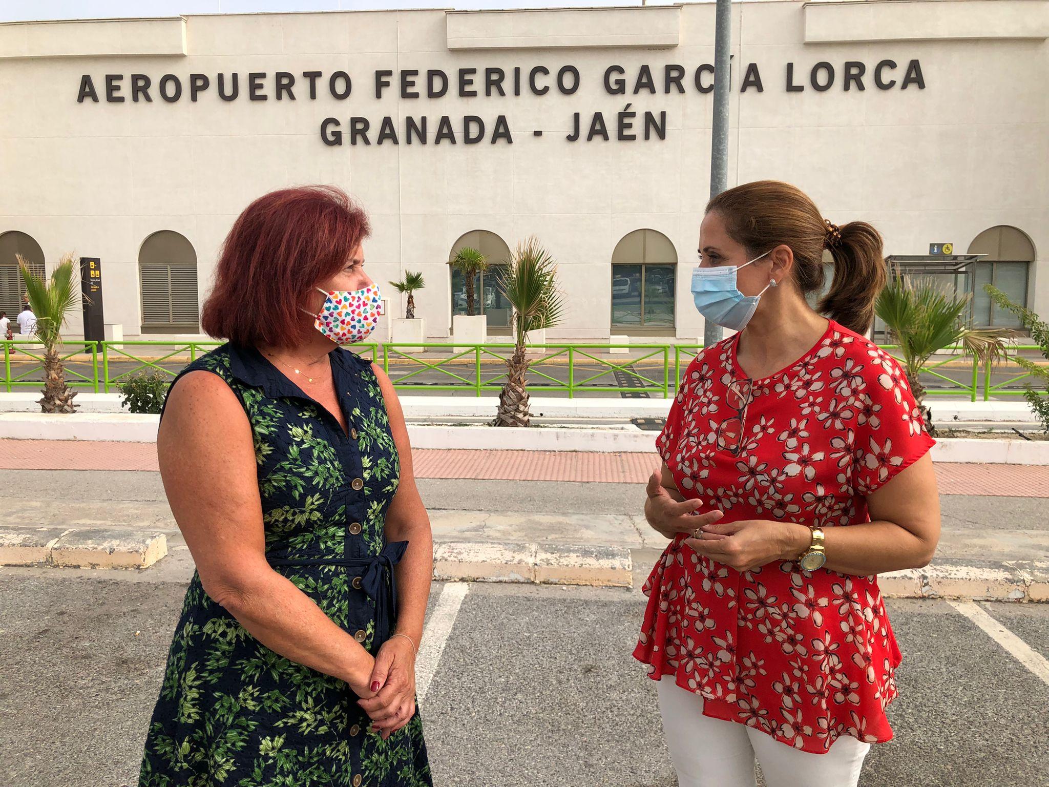 El PSOE destaca el impulso del Gobierno al aeropuerto de Granada, que amplía sus instalaciones con una inversión de 3,3 millones