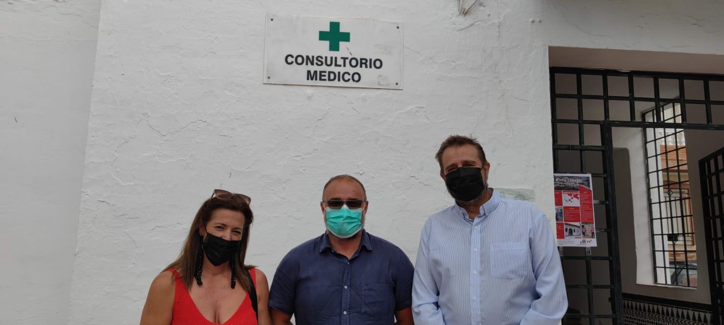 """Ciudadanos urge al Ayuntamiento de Salobreña que actúe ante el """"mal estado"""" del consultorio médico de Lobres"""