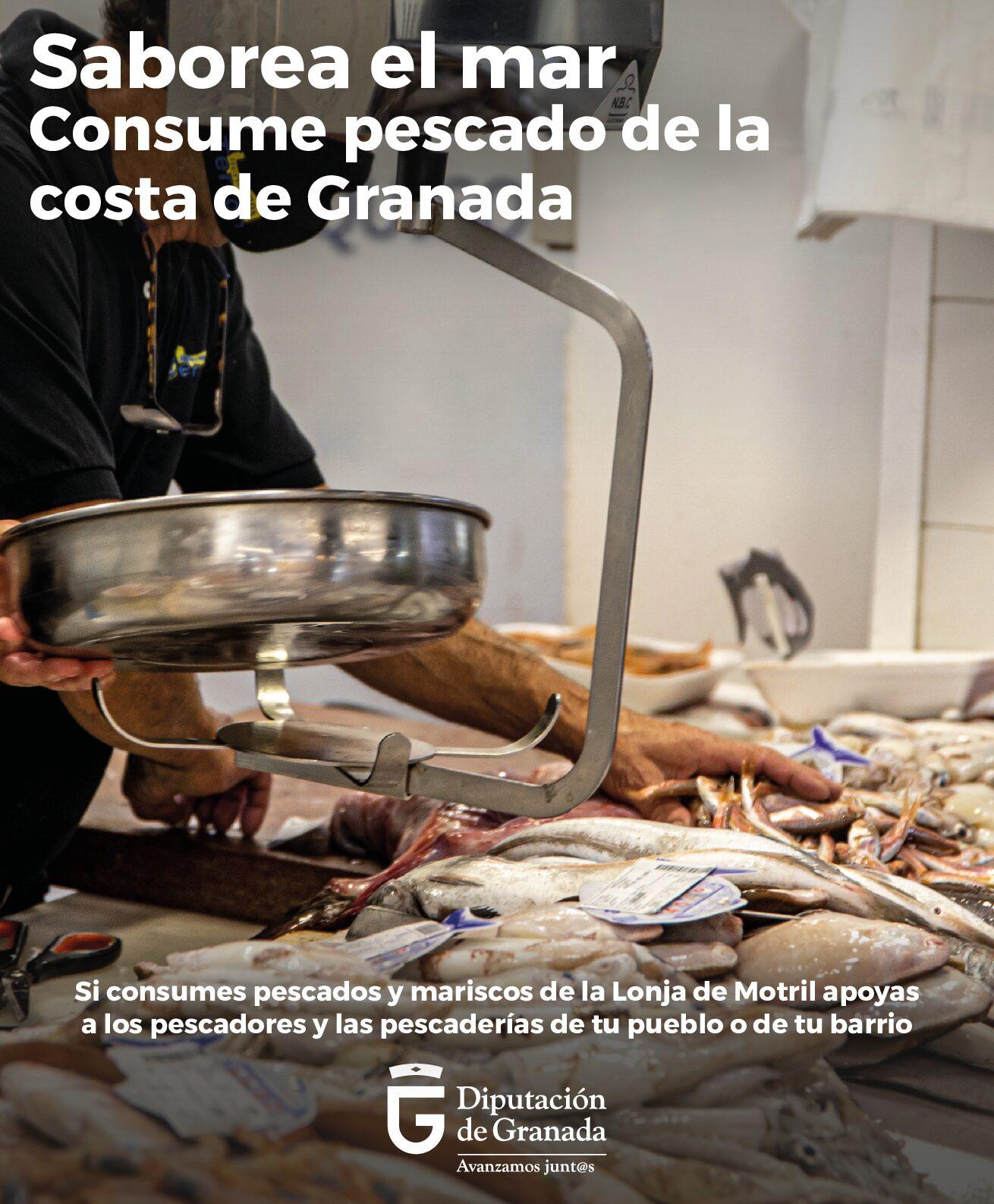 Diputación lanza una campaña de apoyo al sector pesquero para promover el consumo de productos del mar de la Costa Tropical