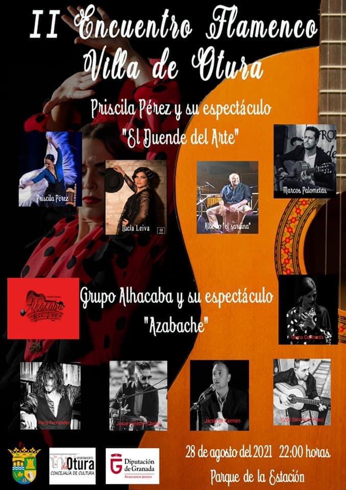 Otura celebra su II Encuentro Flamenco este sábado en el Parque de la Estación
