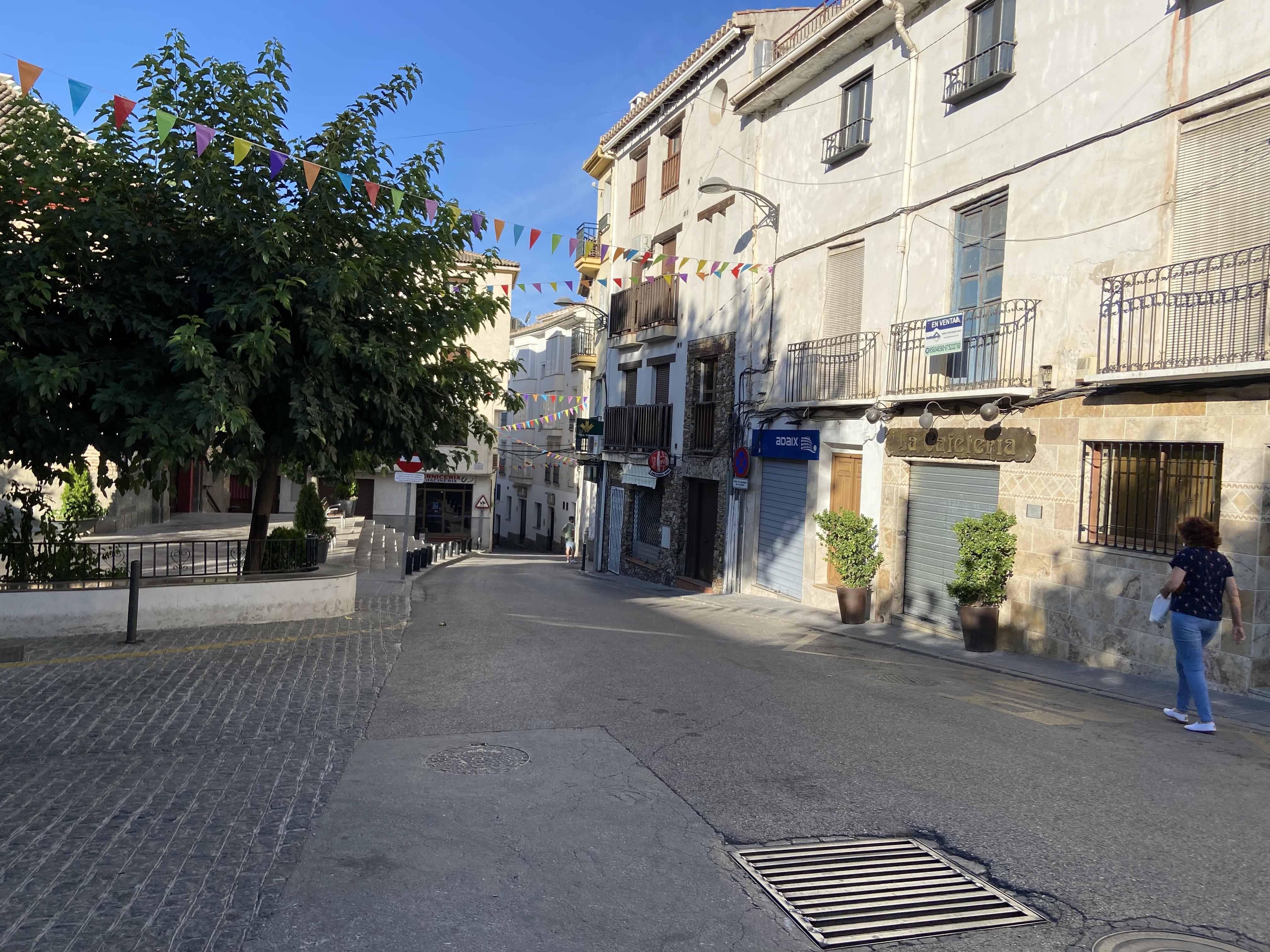 Güéjar Sierra proyecta la renovación integral de la Avenida Duque San Pedro Galatino