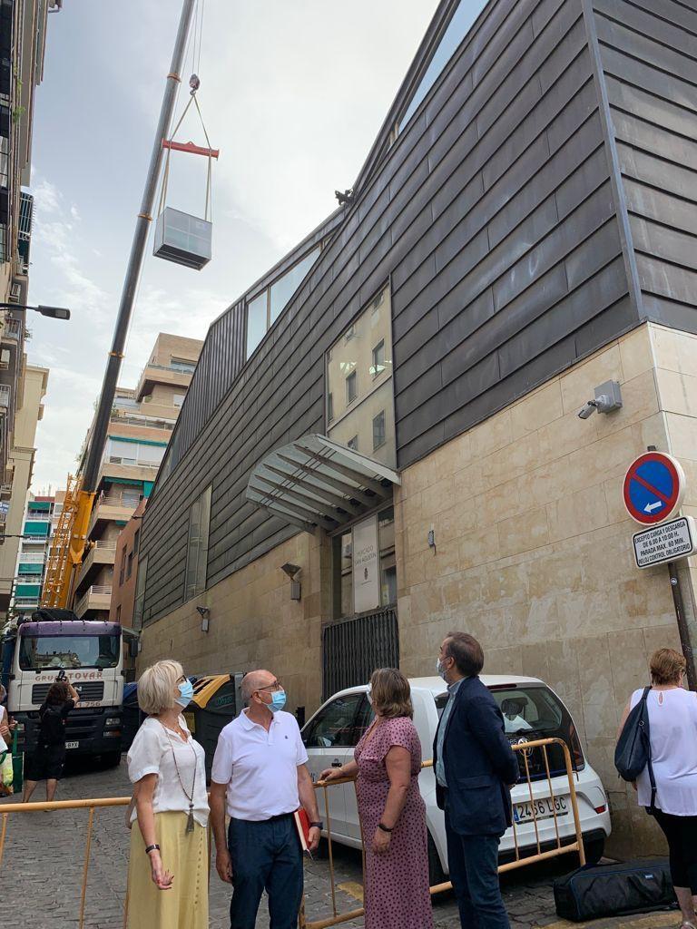 El Ayuntamiento renueva el sistema de climatización del Mercado de San Agustín