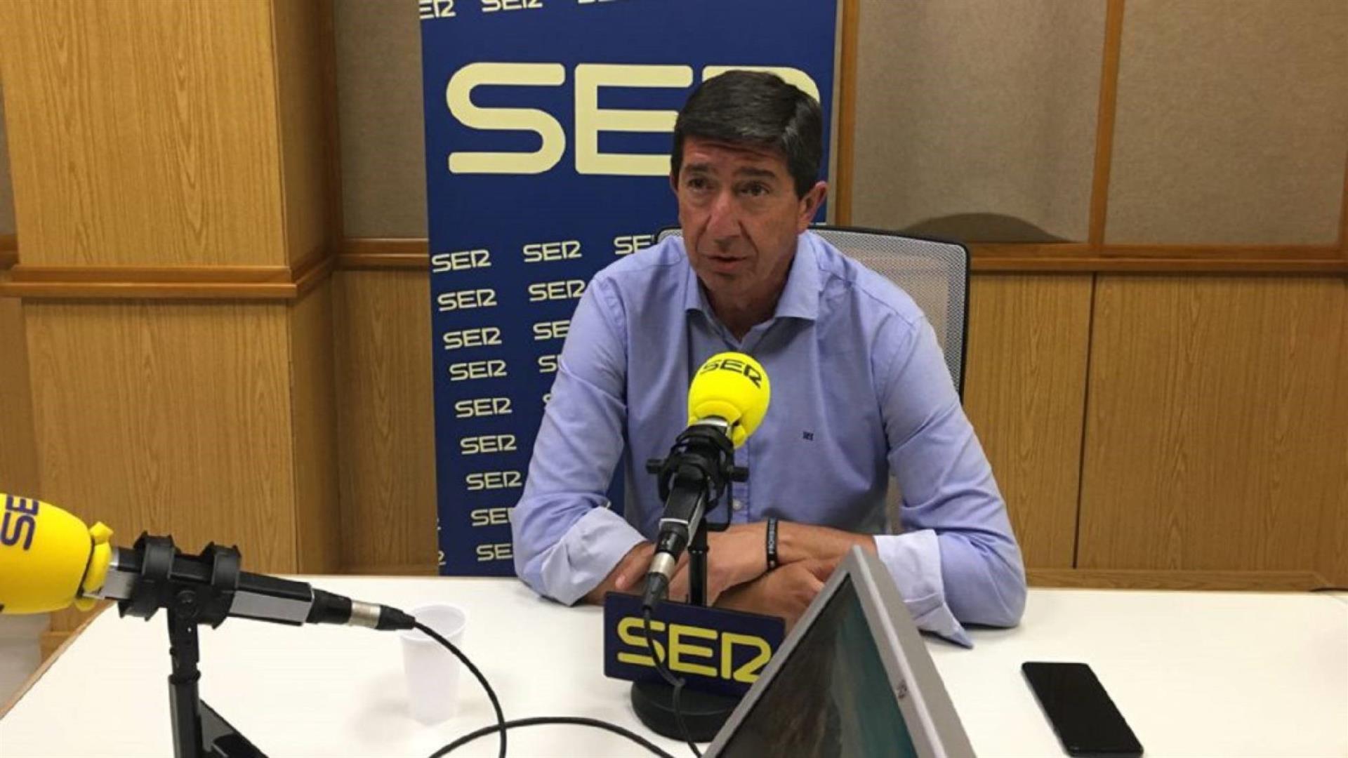 Marín señala a Cs como «indispensable» porque «los andaluces no quieren un Gobierno de PP con Vox o de PSOE con Podemos»