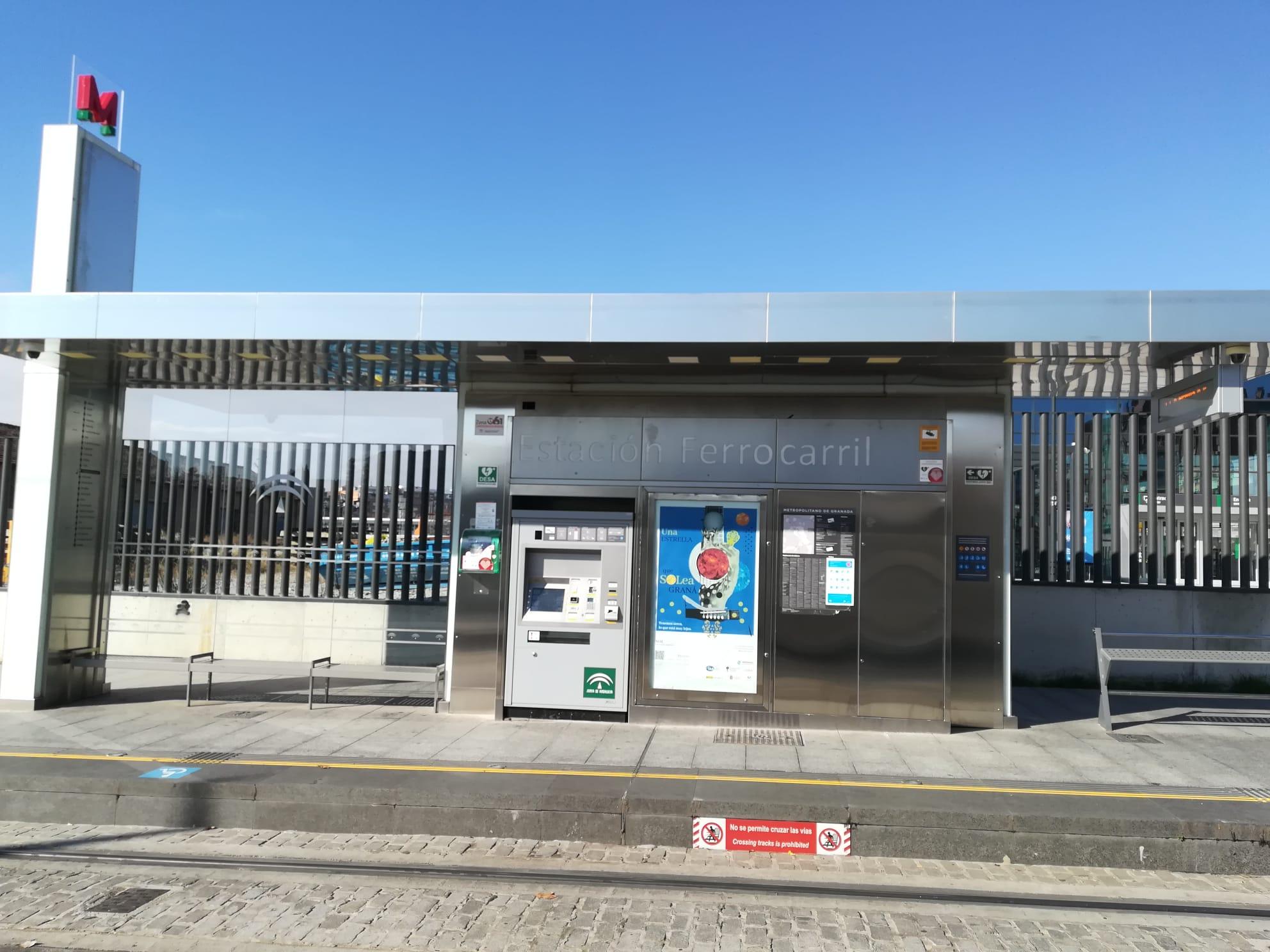 Metro de Granada adjudica la explotación publicitaria de sus paradas, estaciones y trenes