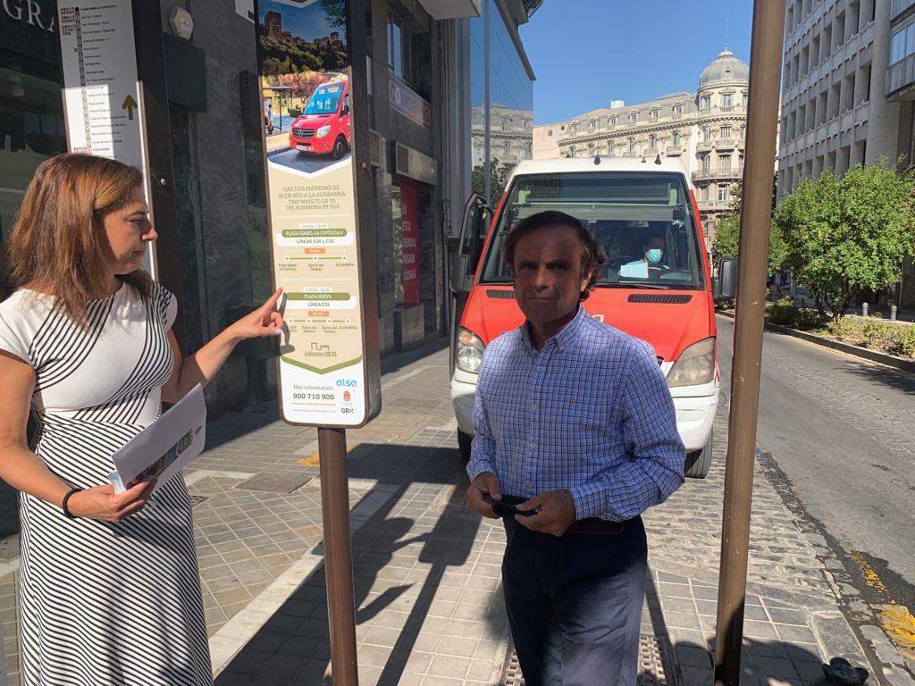 Mejoran la información de las líneas de autobuses turísticas para facilitar el servicio al visitante