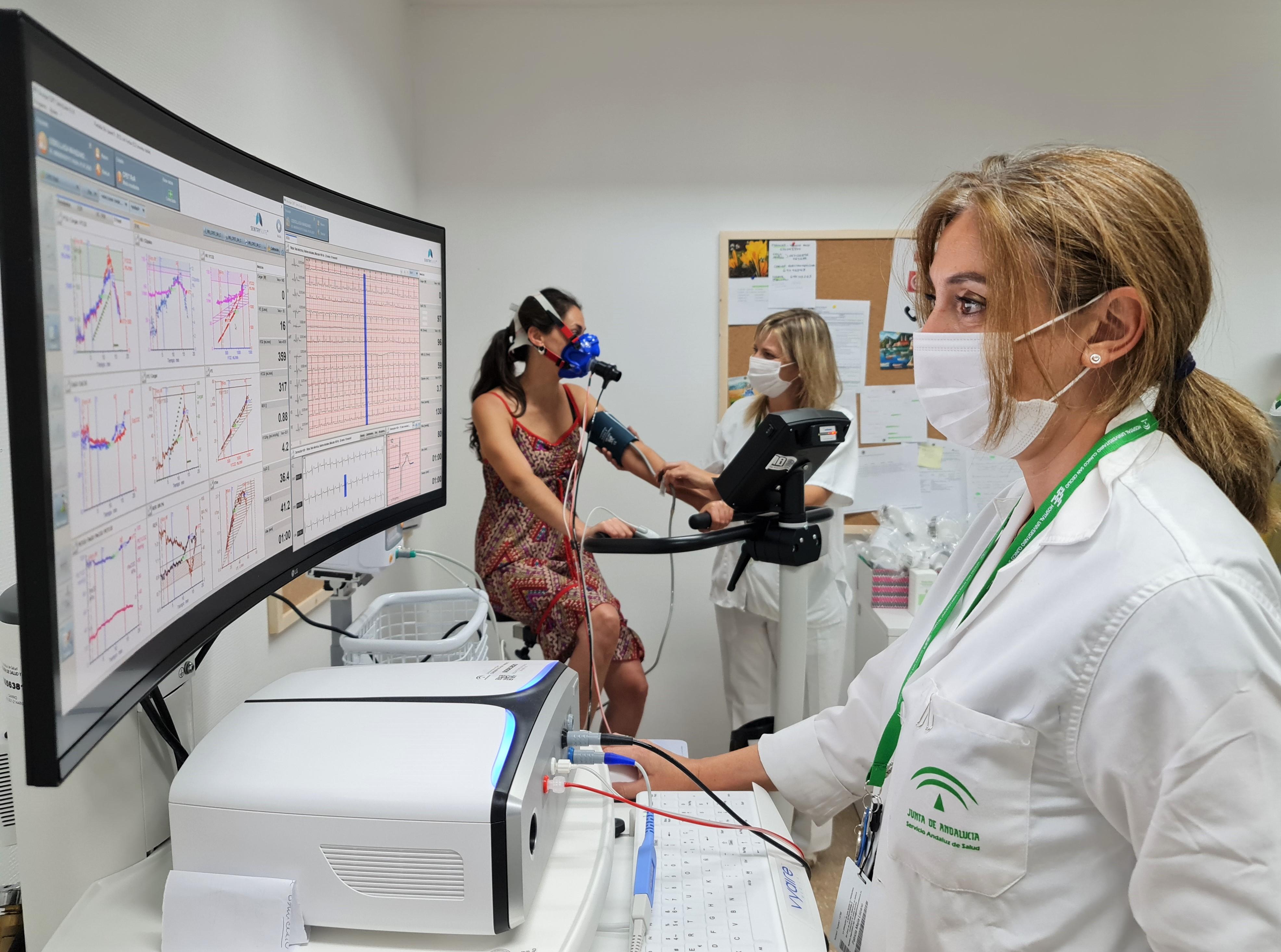La Unidad de Exploración Funcional Respiratoria del Clínico San Cecilio amplia su capacidad para realizar pruebas gracias al nuevo equipamiento