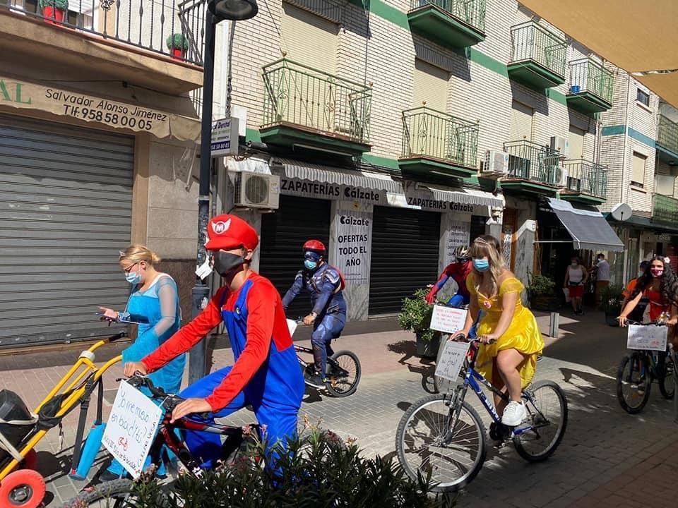 El Día de la Bicicleta de Cúllar Vega cumple 29 años y vuelve a reinventarse por el coronavirus