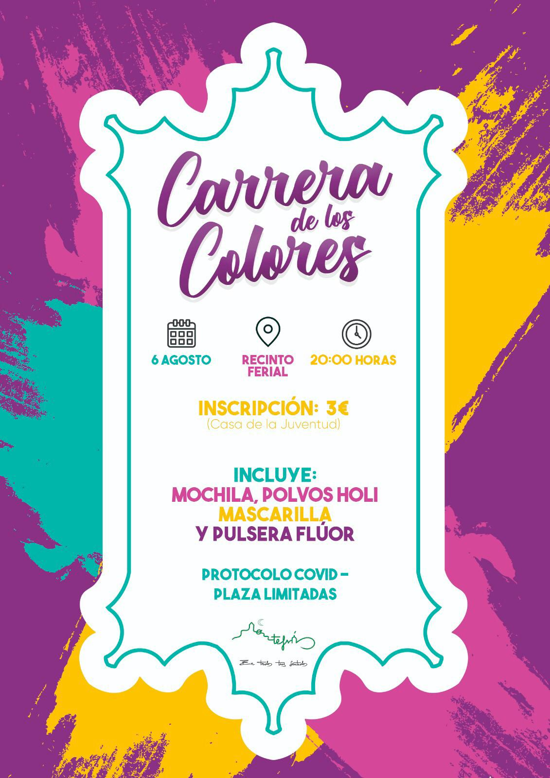 Montefrío organiza para este viernes una Carrera de los Colores en su recinto ferial
