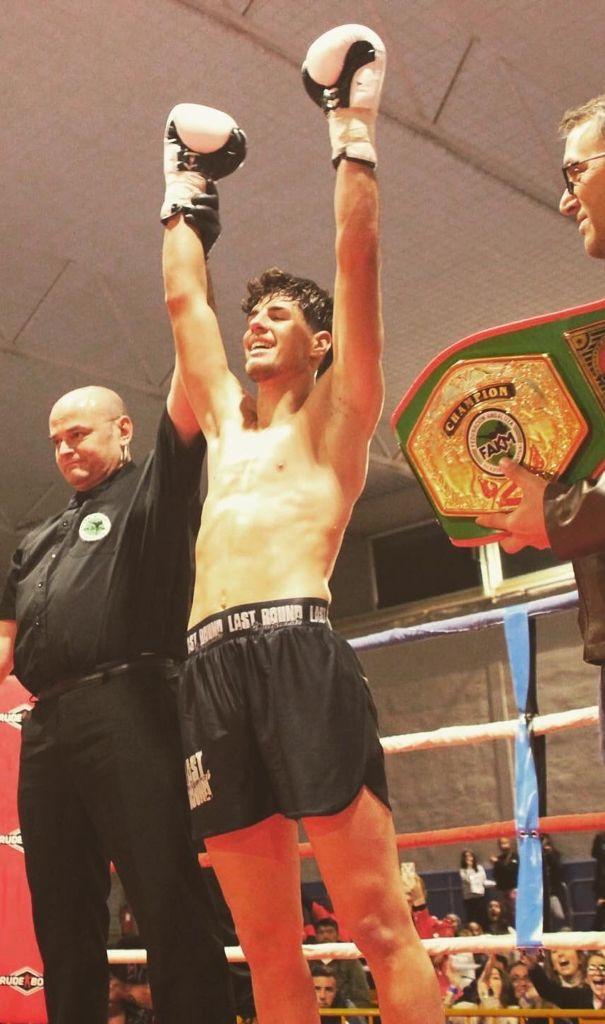 Andrés Entrena formará parte de la selección española en el Campeonato Mundial de Kickboxing WAKO 2021