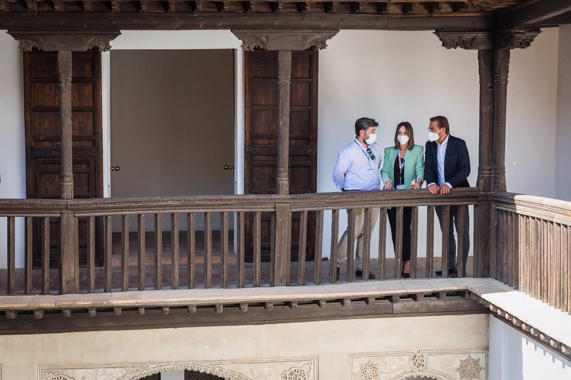 La Alhambra interviene en la cubierta de la Casa Morisca de Horno de Oro