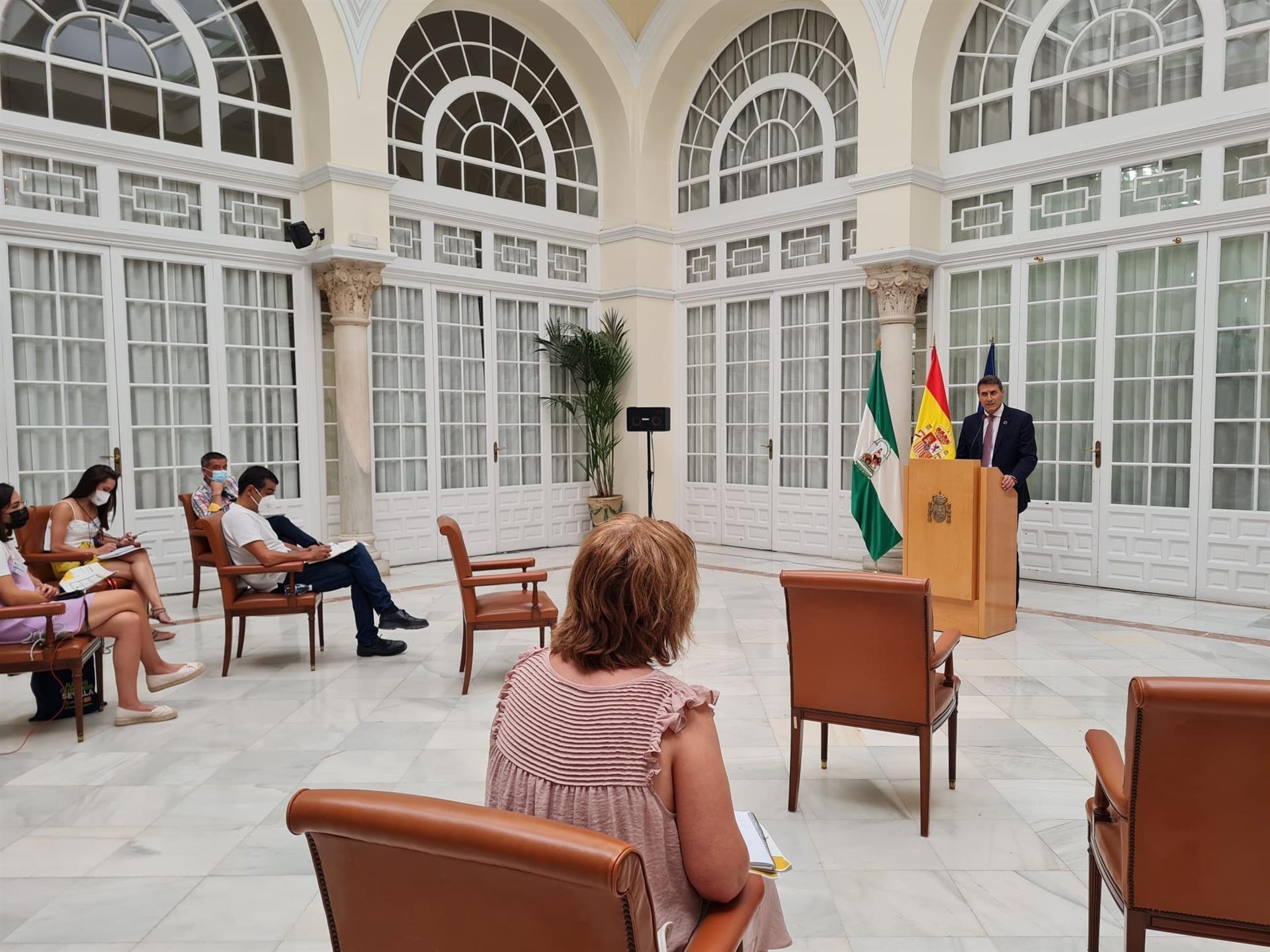 El Gobierno subraya los casi 7.000 millones a Andalucía en el primer semestre del año, un 41,7% al empleo y empresas