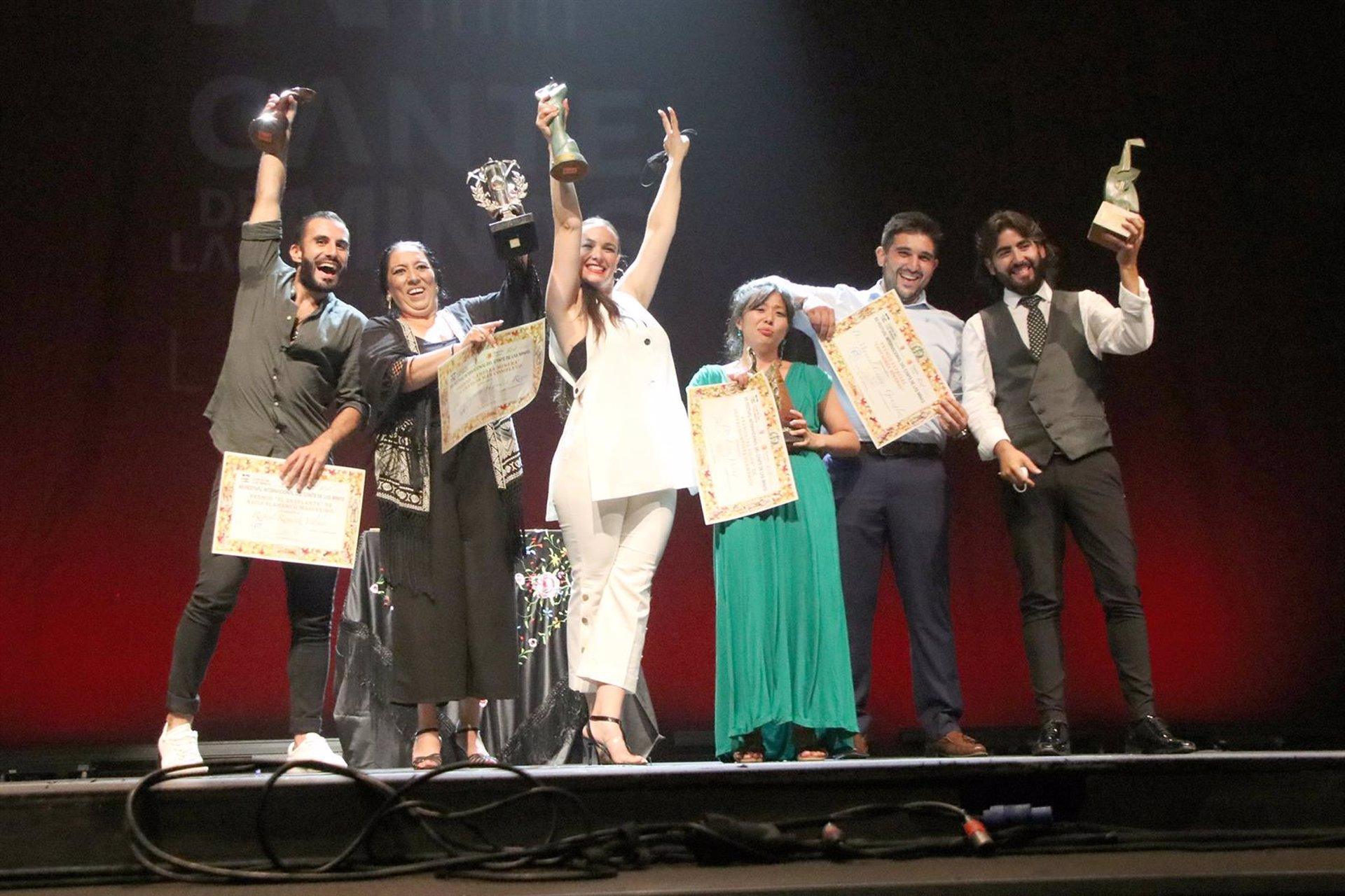 Amparo Heredia Reyes se alza con la 'Lámpara Minera' del 60 Festival Internacional del Cante de las Minas