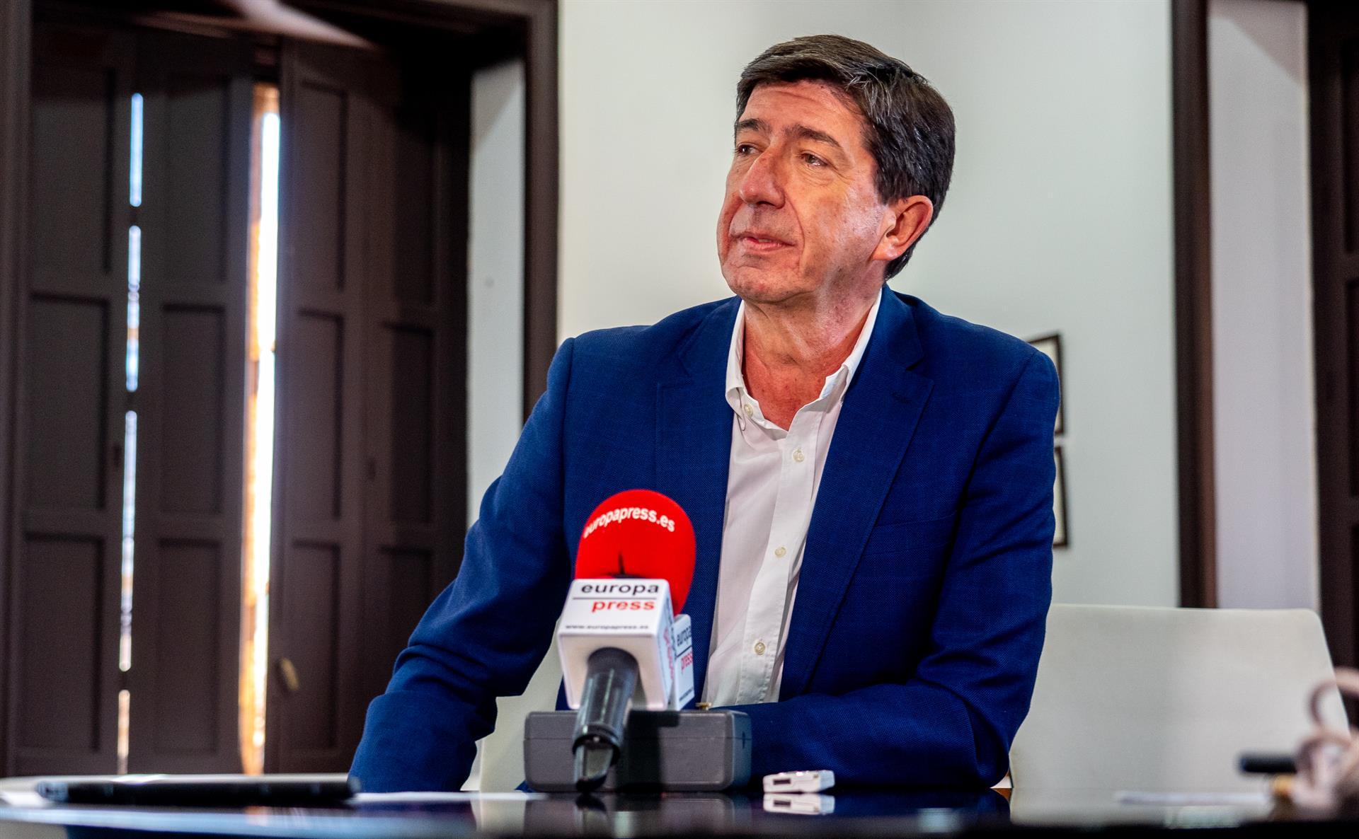 Marín: «Espero que se puede repetir este gobierno de PP y Cs otros cuatro años porque se ha puesto de moda ser moderado»