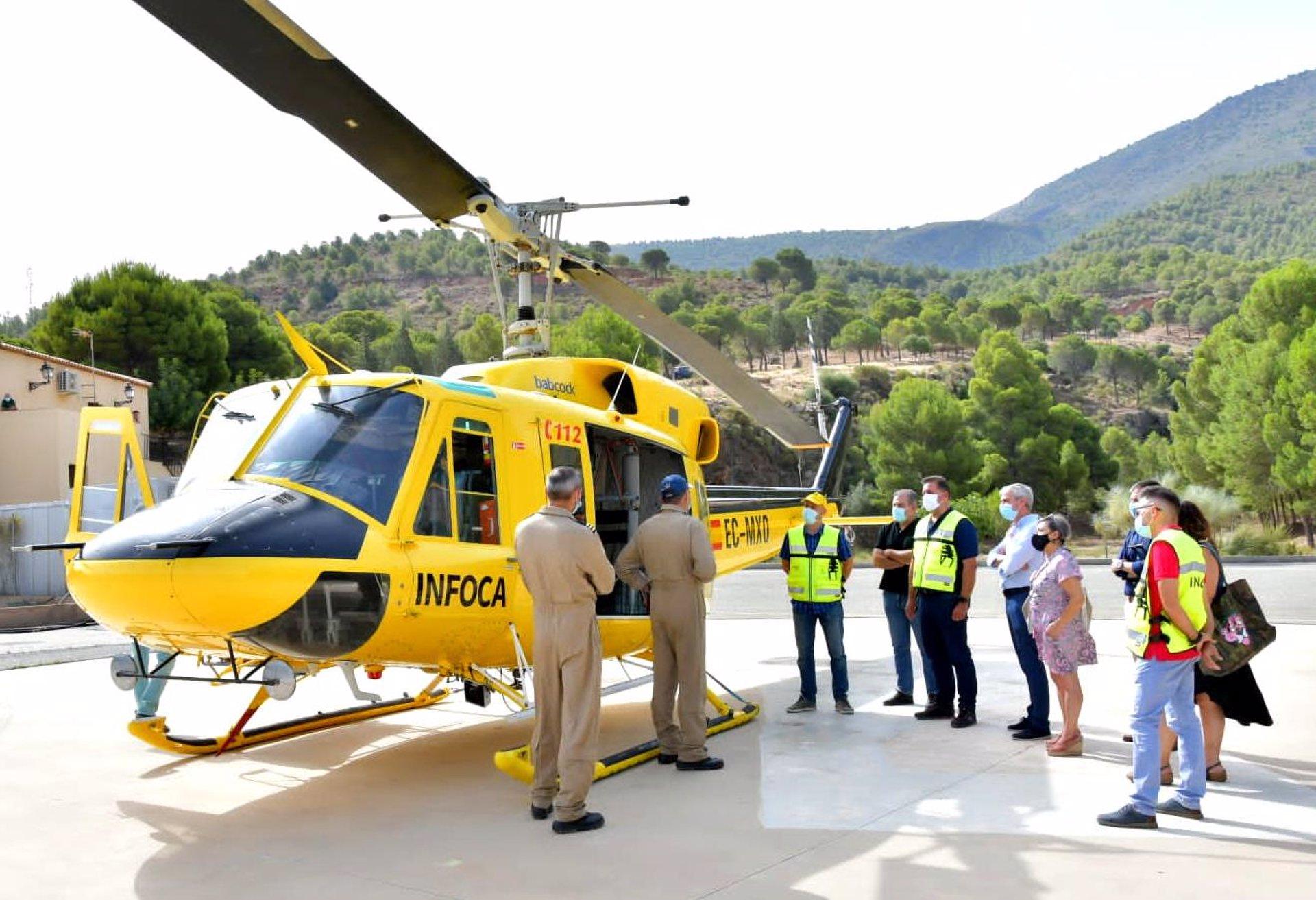 El Centro de Defensa Forestal de Sierra Nevada contribuye a prevenir y extinguir incendios