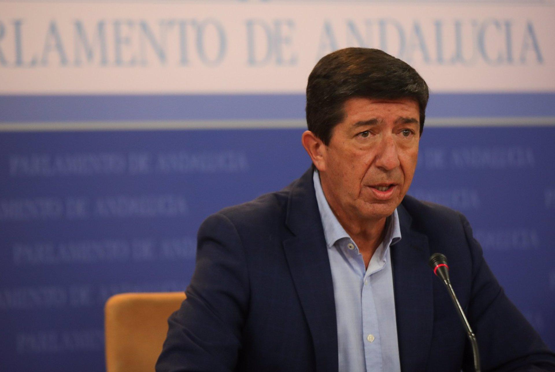 Marín exige el acta a Salvador como «a todo el que abandona Cs» y dice que el PSOE «tiene a tránsfugas»