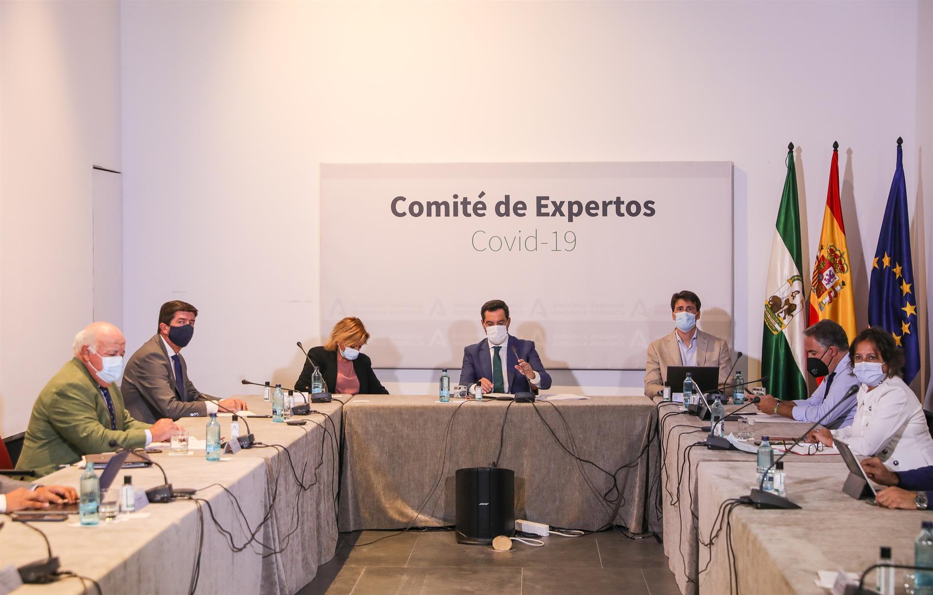 Andalucía propone ampliar el horario de la hostelería hasta las dos y el ocio nocturno hasta las 3,30