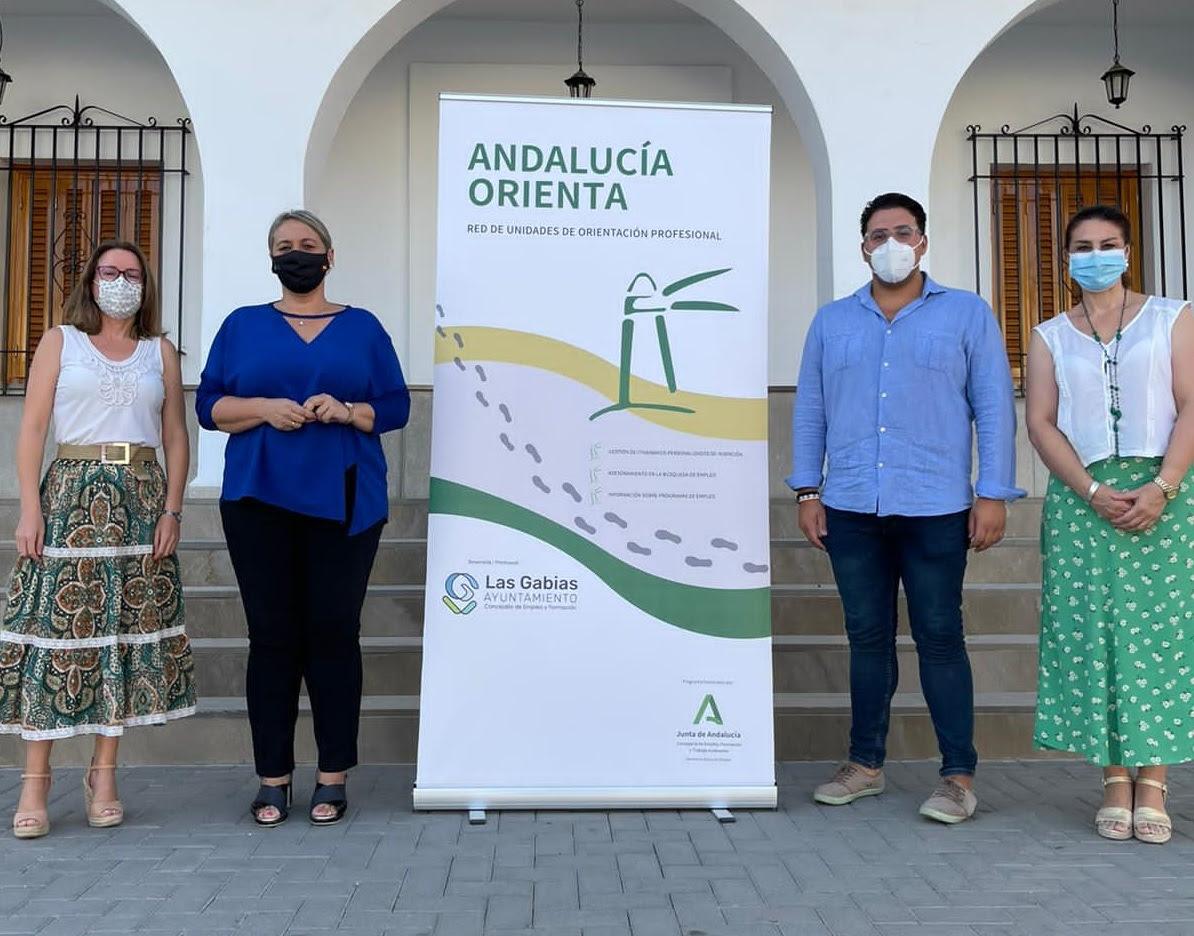 Las Gabias prestará por primera vez de manera presencial el servicio Andalucía Orienta