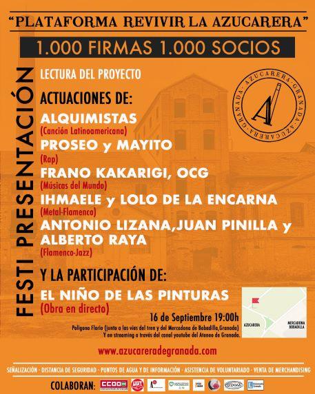 Revivir la Azucarera presenta su proyecto con un festival cultural