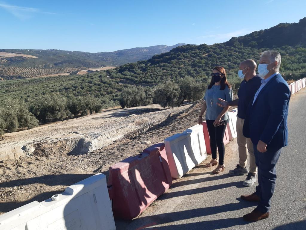Diputación invierte 1,1 millones en la construcción de la variante de Zagra