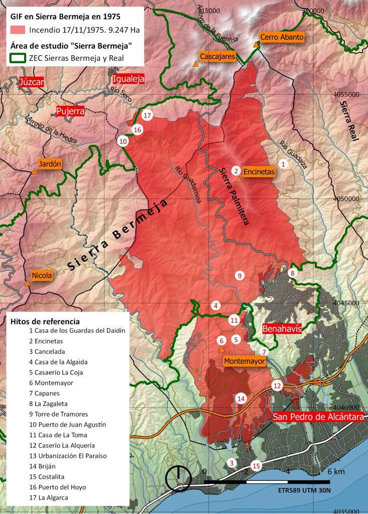 El abandono del monte, la presión del turismo o la falta de medidas preventivas explican la virulencia del incendio forestal de Sierra Bermeja, según expertos de la UGR
