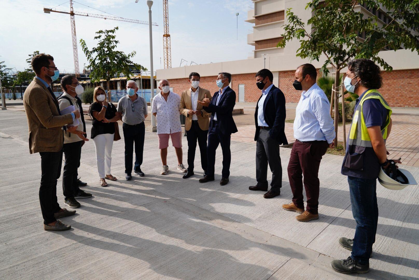 Cuenca solicita a la Junta la ampliación del CEIP Eugenia de Montijo ante la previsión de la llegada de más de 2.300 familias a la nueva zona de expansión de La Chana
