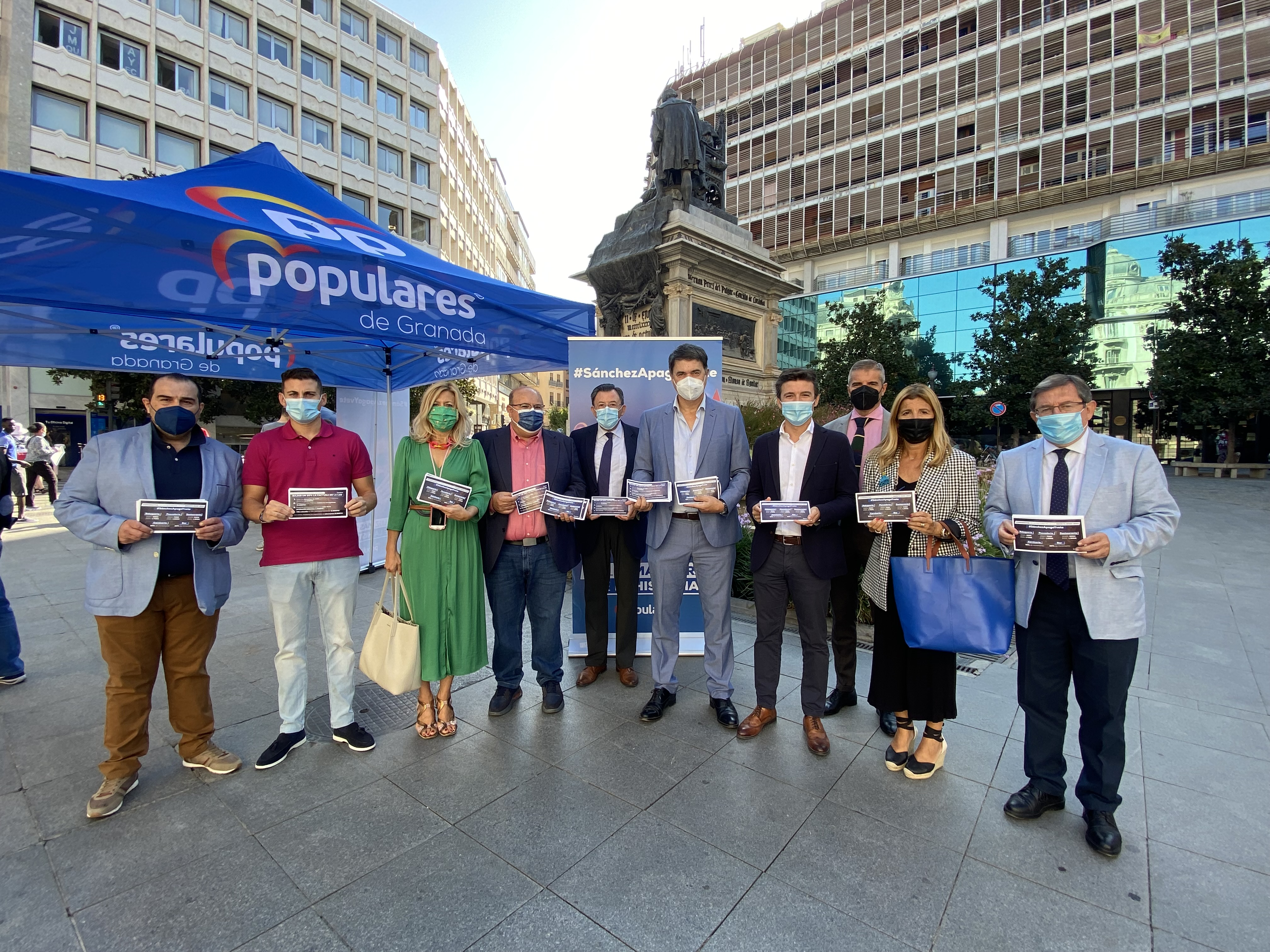 El PP critica la incompetencia de Sánchez para hacer frente a la subida de la luz y le insta a poner en práctica las medidas propuestas por Casado