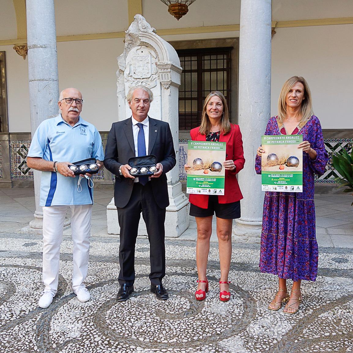 El Campeonato de Andalucía de Petanca para discapacitados intelectuales se celebrará en Granada