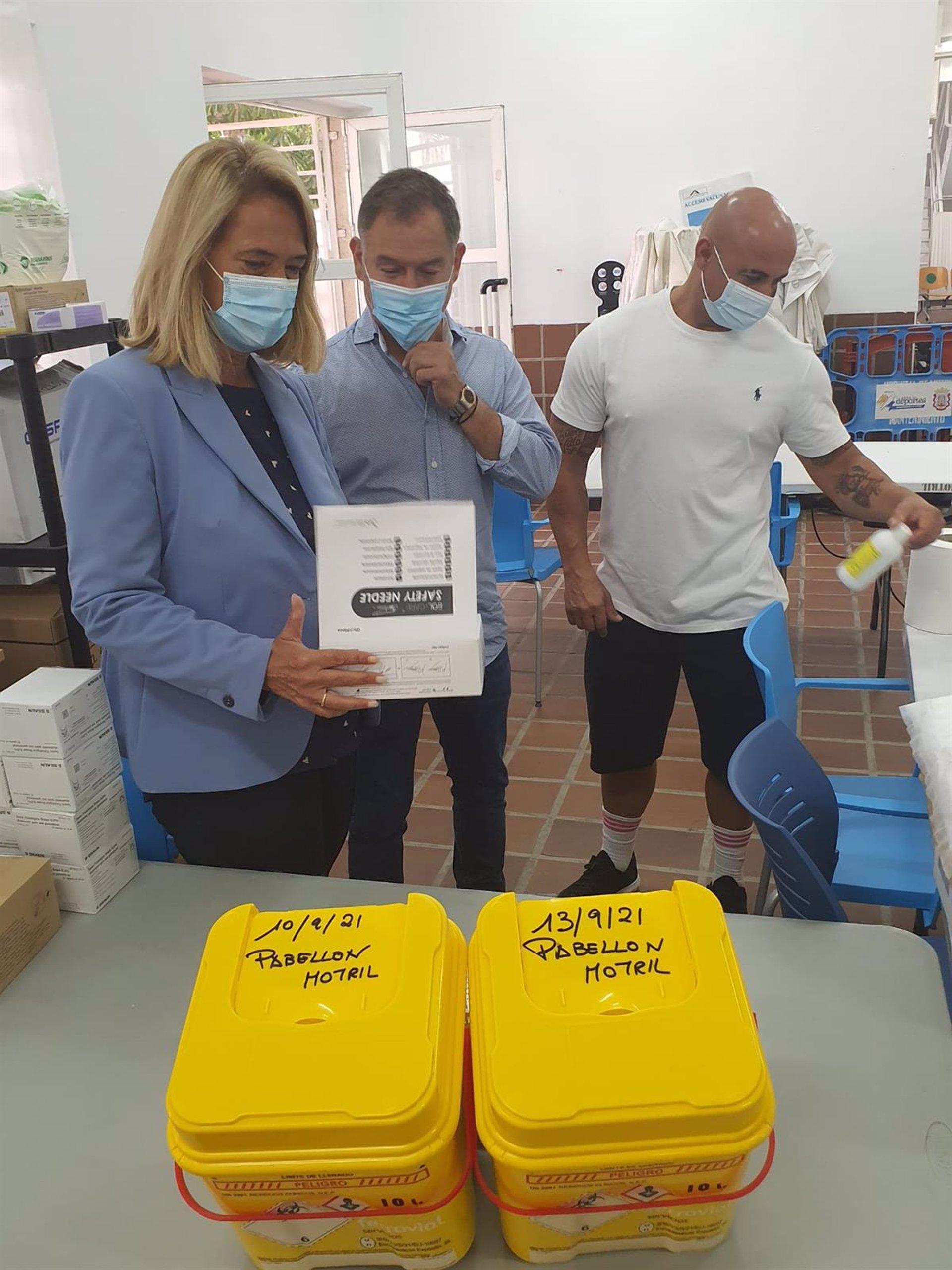 Cierra en Motril el punto de vacunación masiva, donde se suministraron unas 68.000 dosis