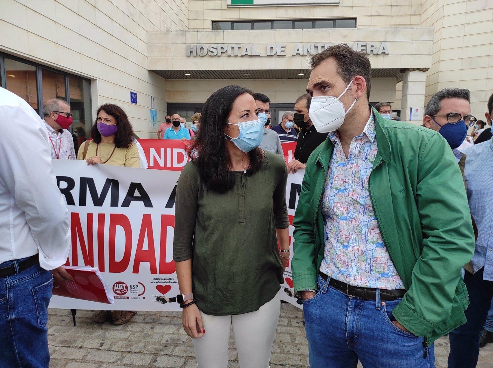 Valero avisa de que Andalucía se va a movilizar ante el «deterioro» de la sanidad pública: «Este pulso lo vamos a ganar»