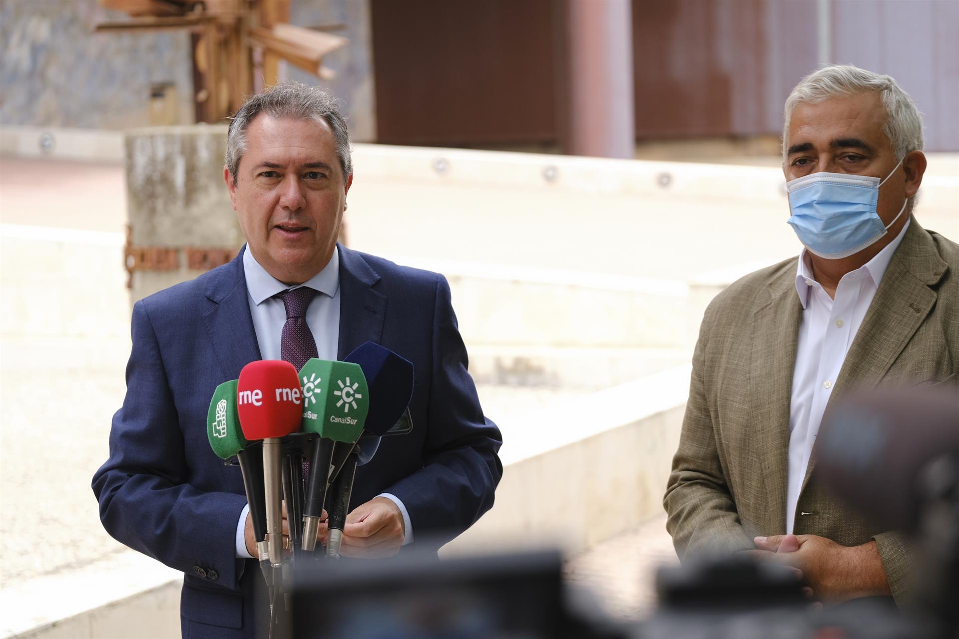 Espadas vería «renunciar» al Presupuesto 2022 como «una torpeza» y espera que se produzca su reunión con Moreno
