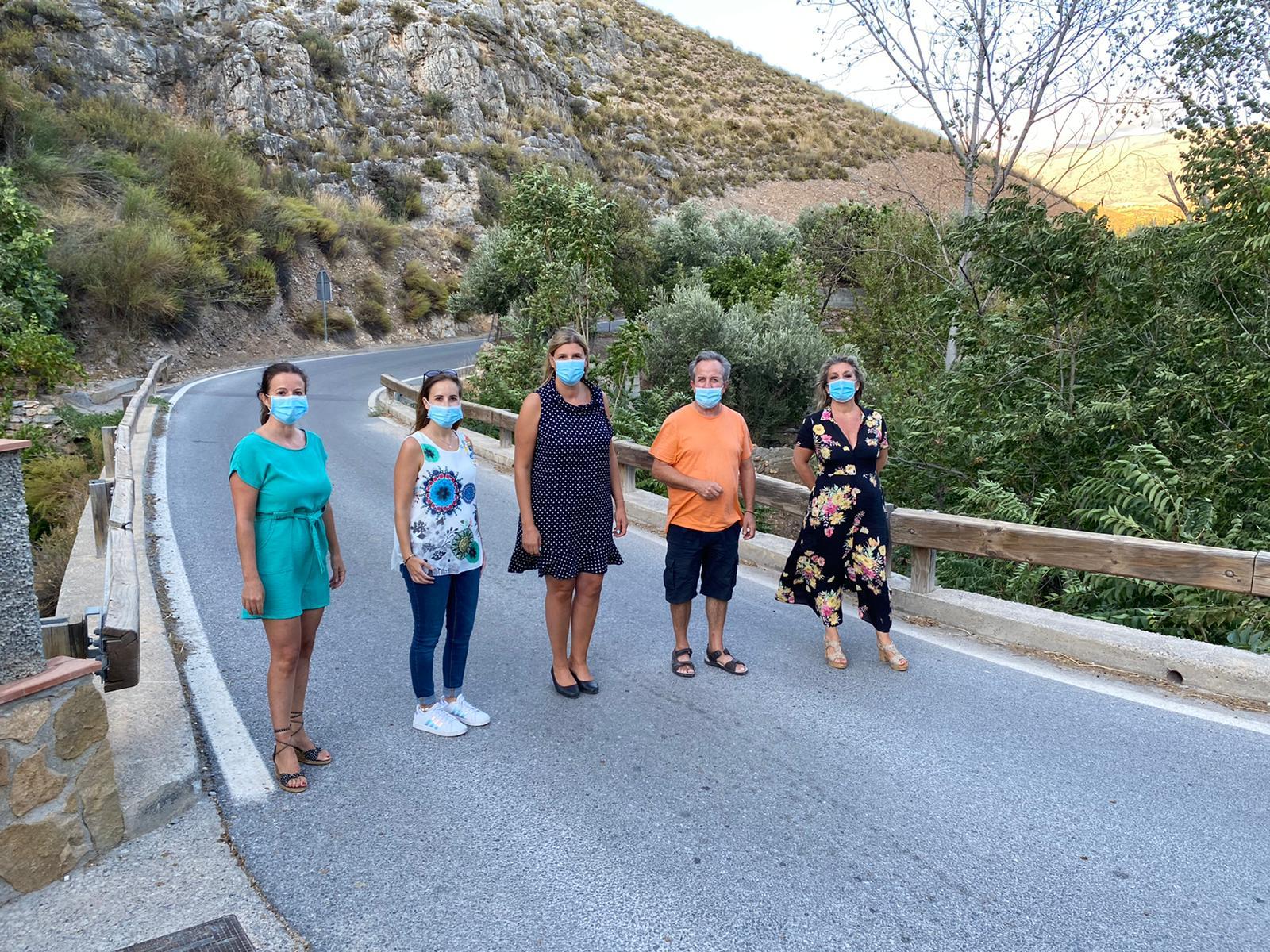 El PP pide a Diputación el ensanchamiento de la carretera que da acceso a Cónchar
