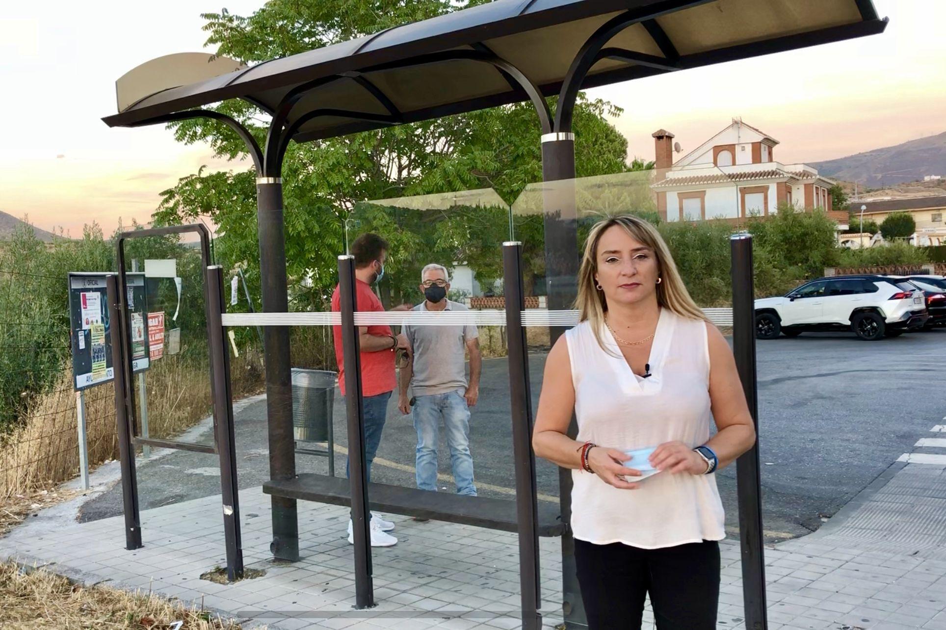 """El PSOE de Huétor Vega denuncia que las """"deficiencias"""" en el transporte público excluye a personas con movilidad reducida"""
