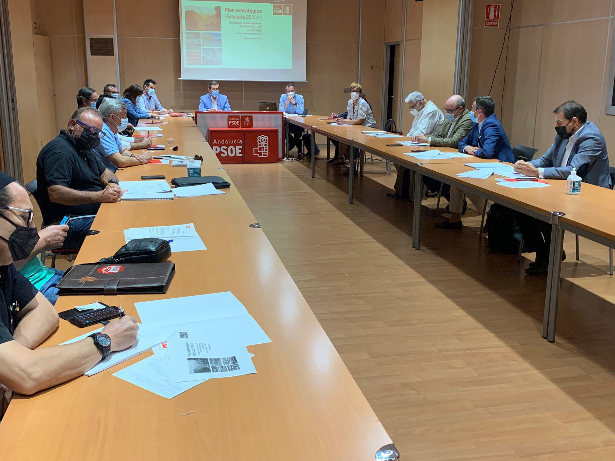 El PSOE promueve la estrategia 'Granada 203040' para diseñar con la sociedad la provincia de las dos próximas décadas