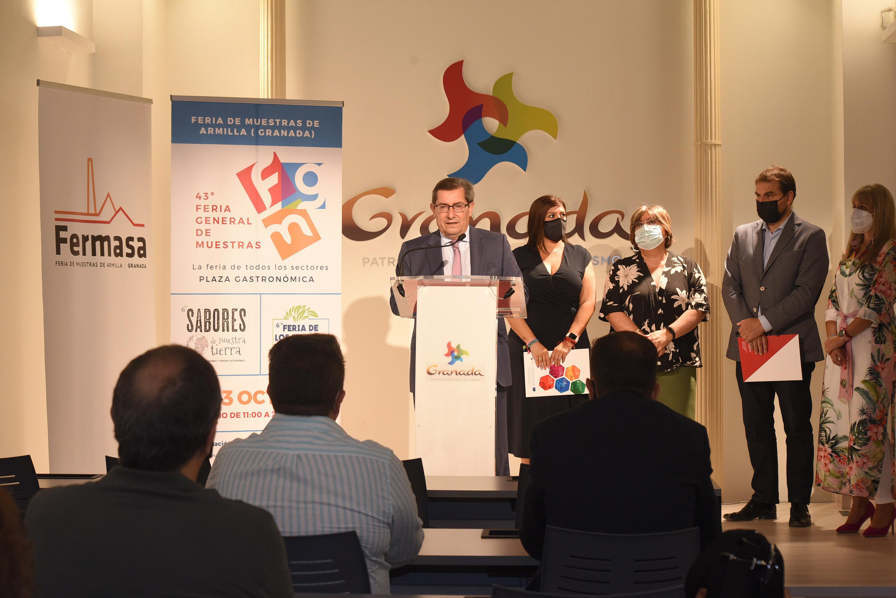 """""""Sabor Granada"""" y Geoparque, protagonistas del espacio de Diputación en la Feria General de Muestras en Armilla"""
