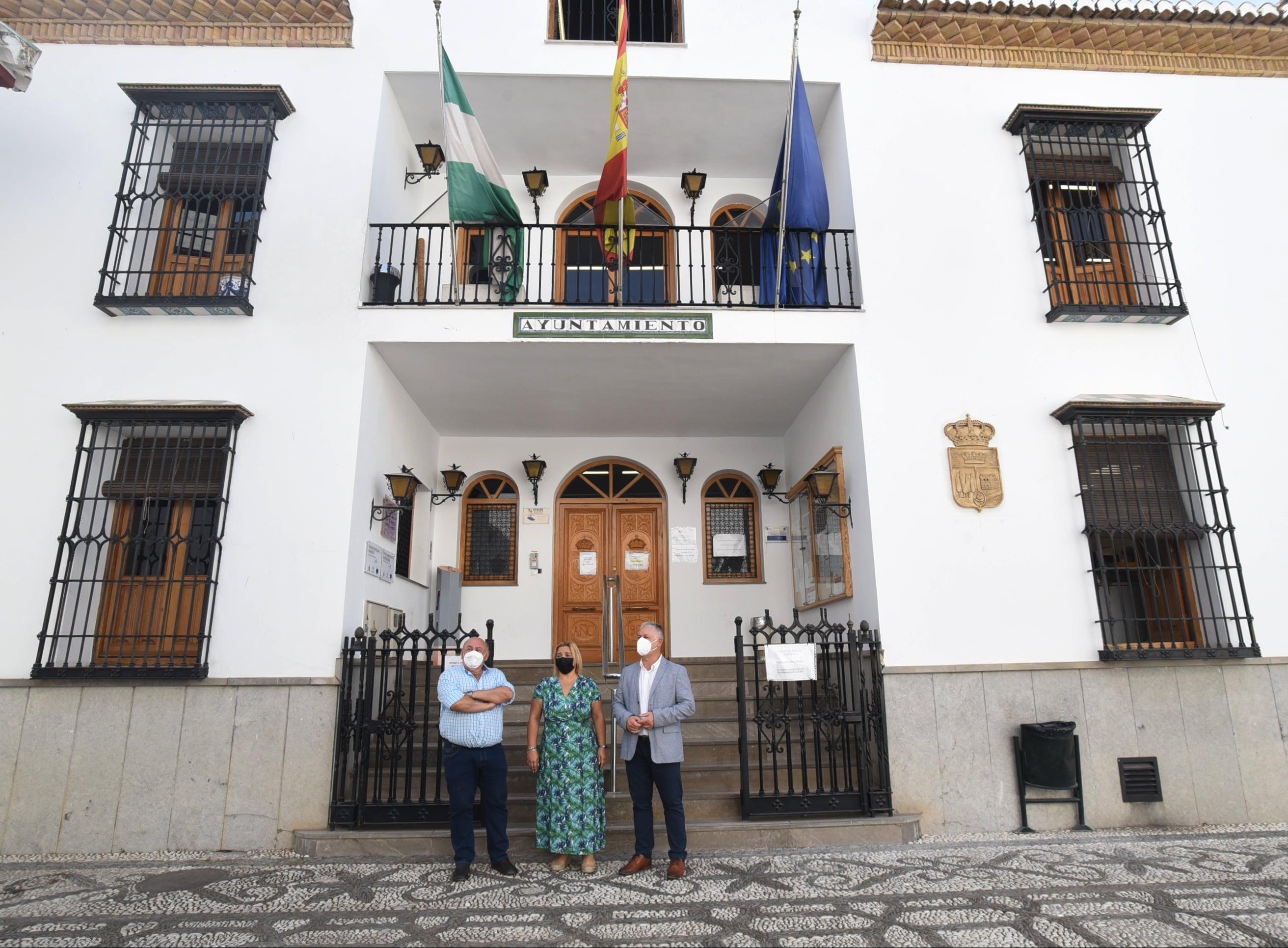 Diputación actúa en La Zubia invirtiendo 1,5 millones para la mejora de servicios e infraestructuras