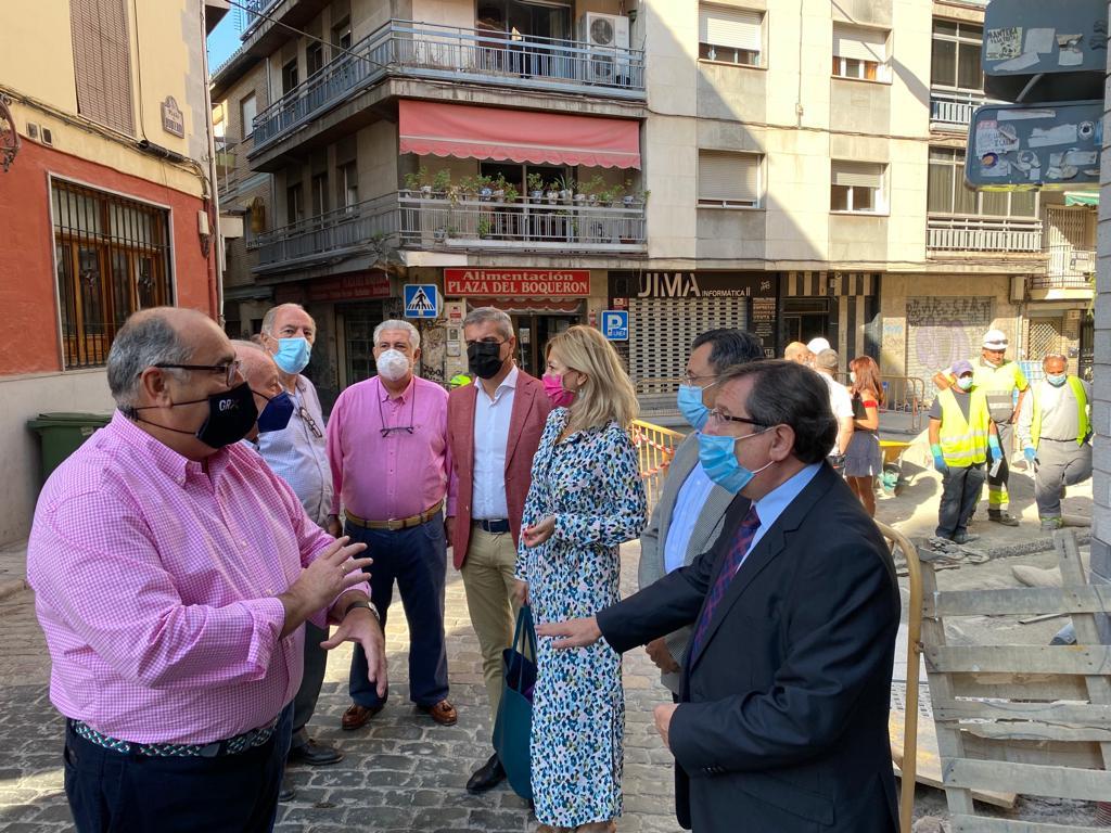 El PP pide al gobierno municipal que mejore la seguridad en el Boquerón e impulse la segunda fase de obras para revitalizar el barrio